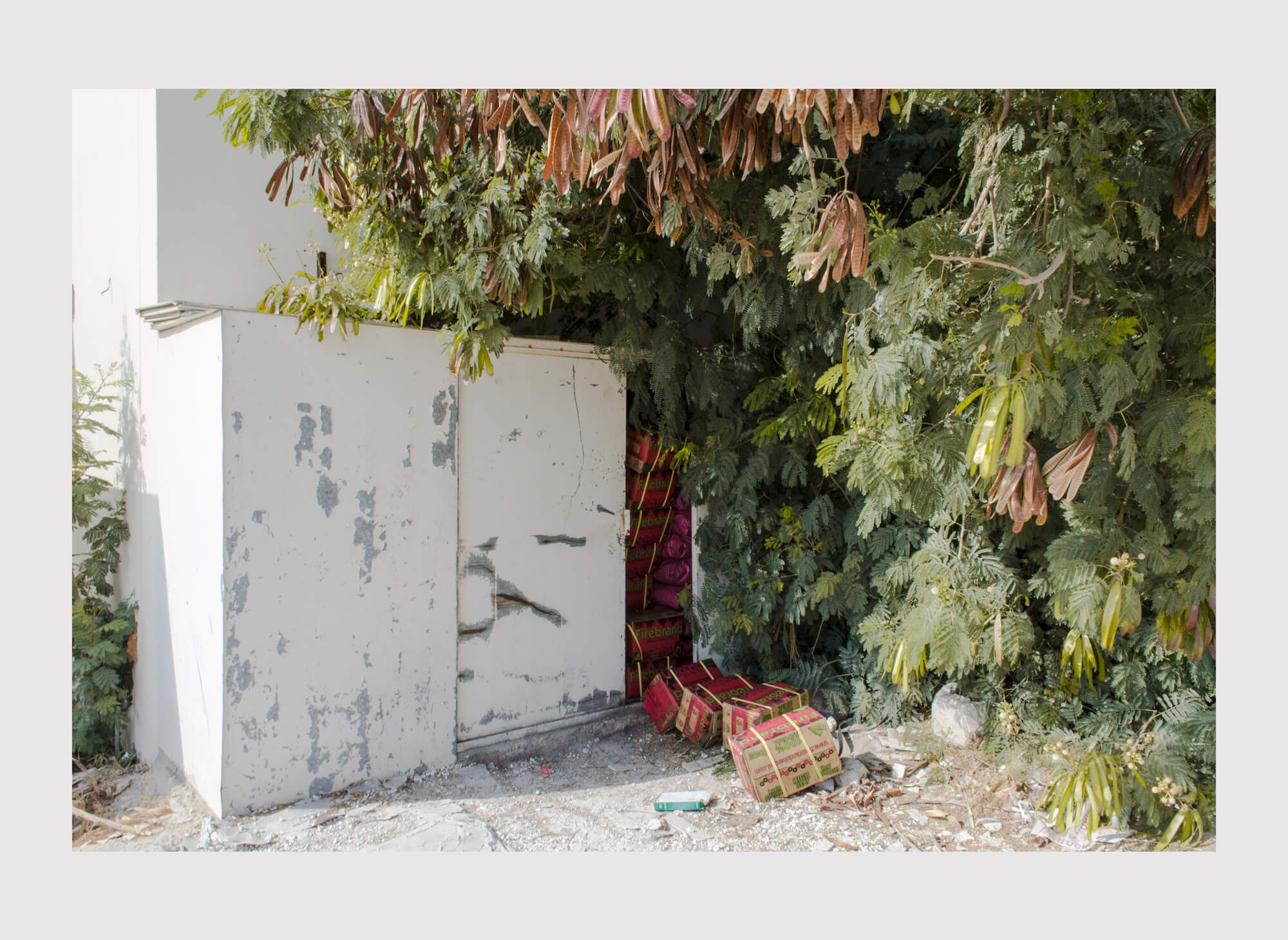 Ethan Beswick Mirari electricity box in Dubai photography the south west collective