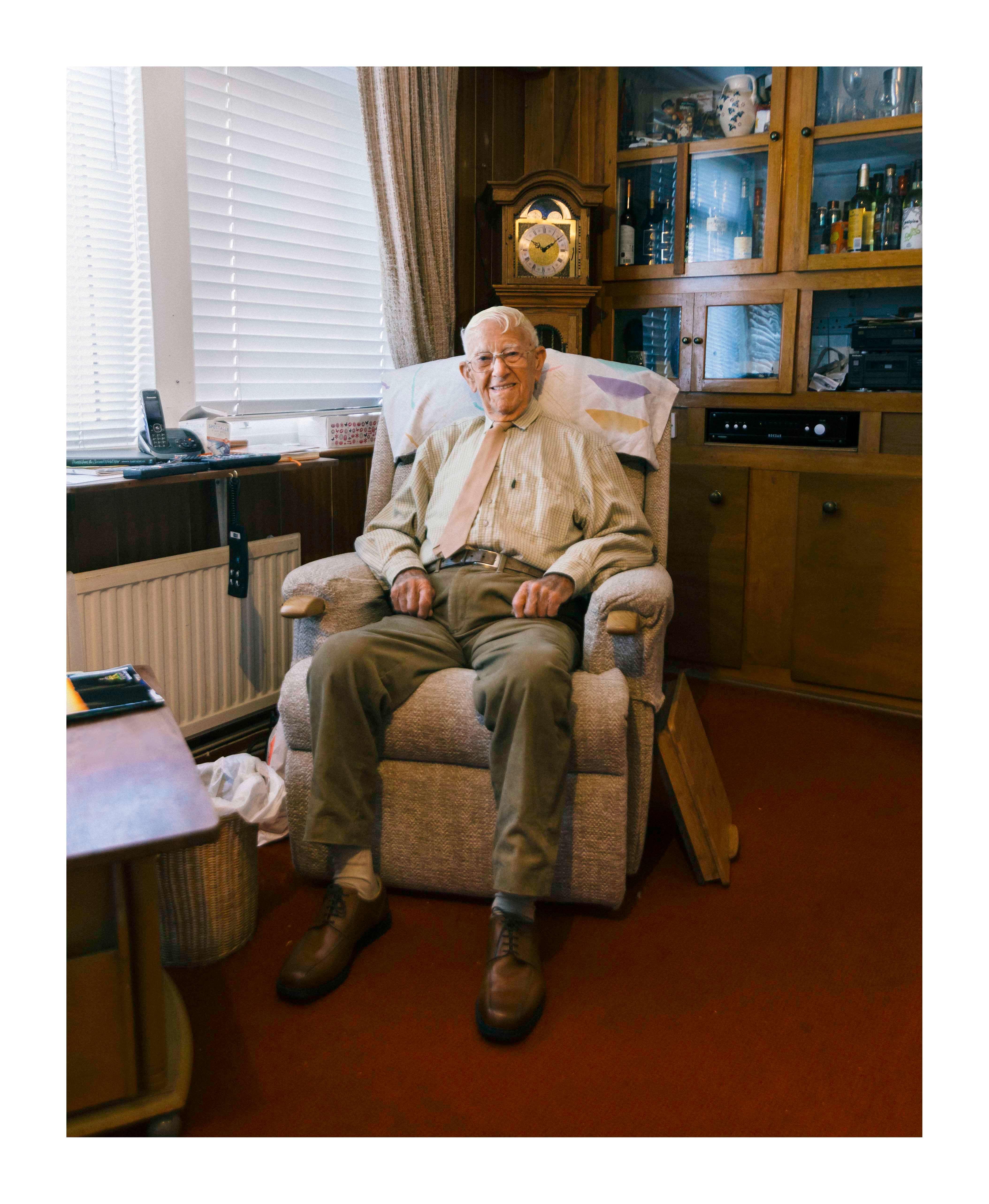 Garth Wright ww2 veteran second world war Dunkirk hero photography photographer