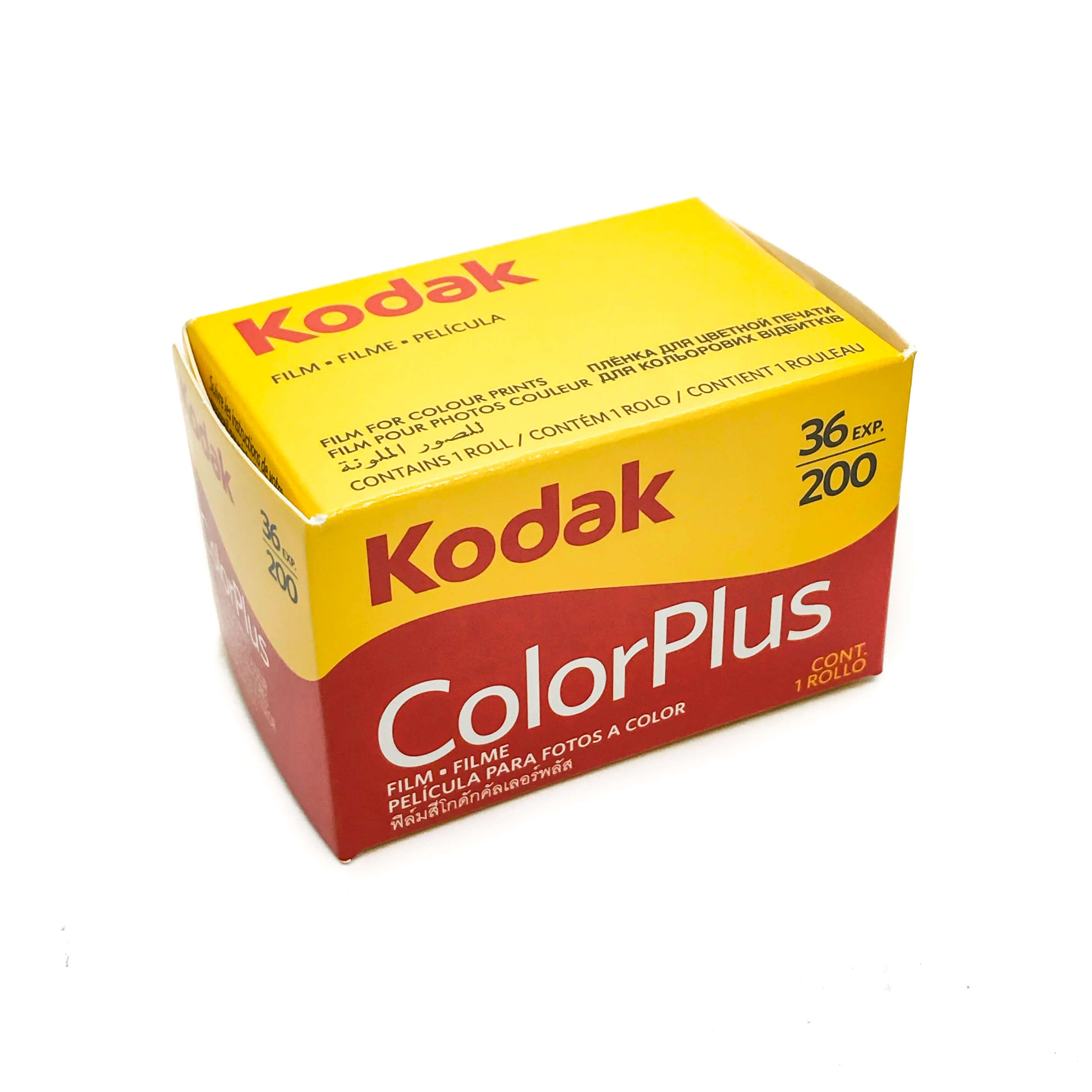 Kodak ColourPlus 200 36 exposure 35mm photographic film