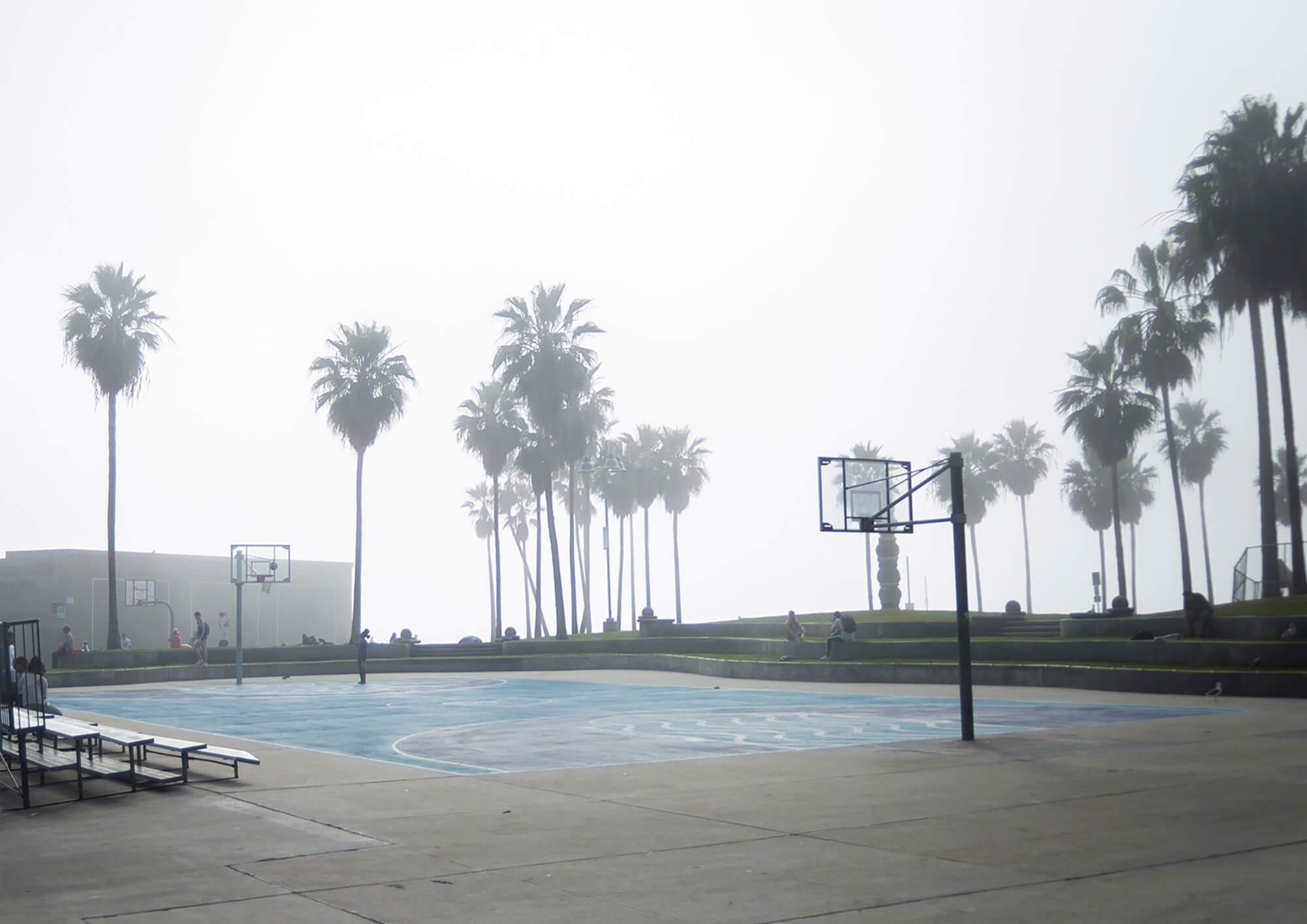 Venice beach for basketball court United States California
