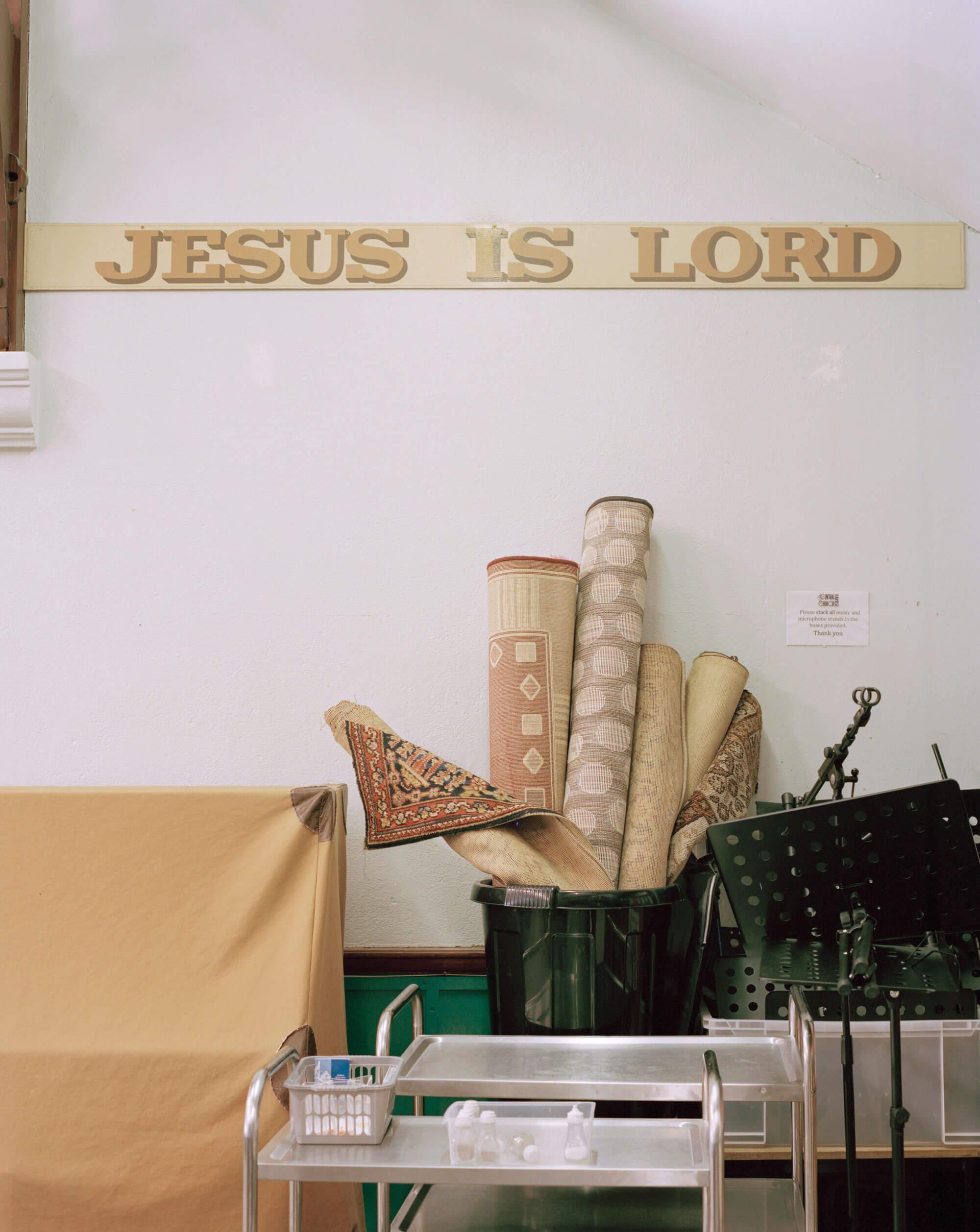 Jesus is lord wall paper in the Catholic Church by matt Scott