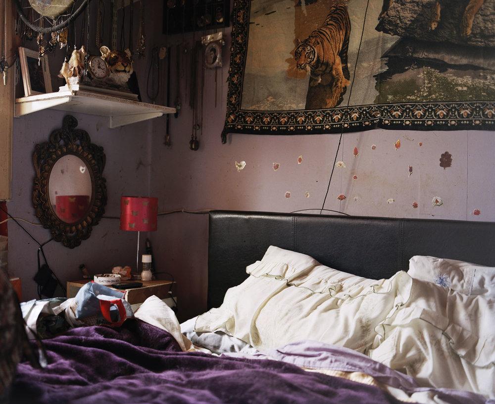 Sandra Mickiewicz Happy Club bedroom in jaywick