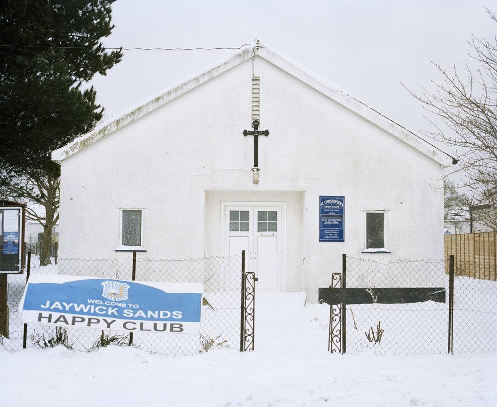 Sandra Mickiewicz Happy Club jaywick sands happy club church