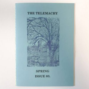 The Telemachy magazine on white background