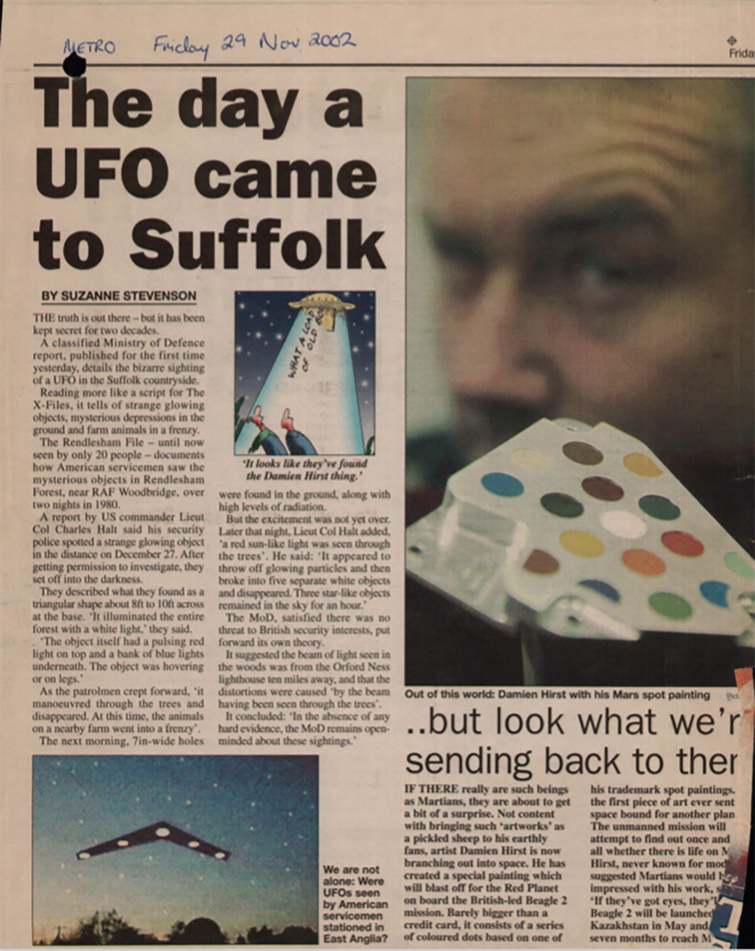 suffolk ufo newspaper