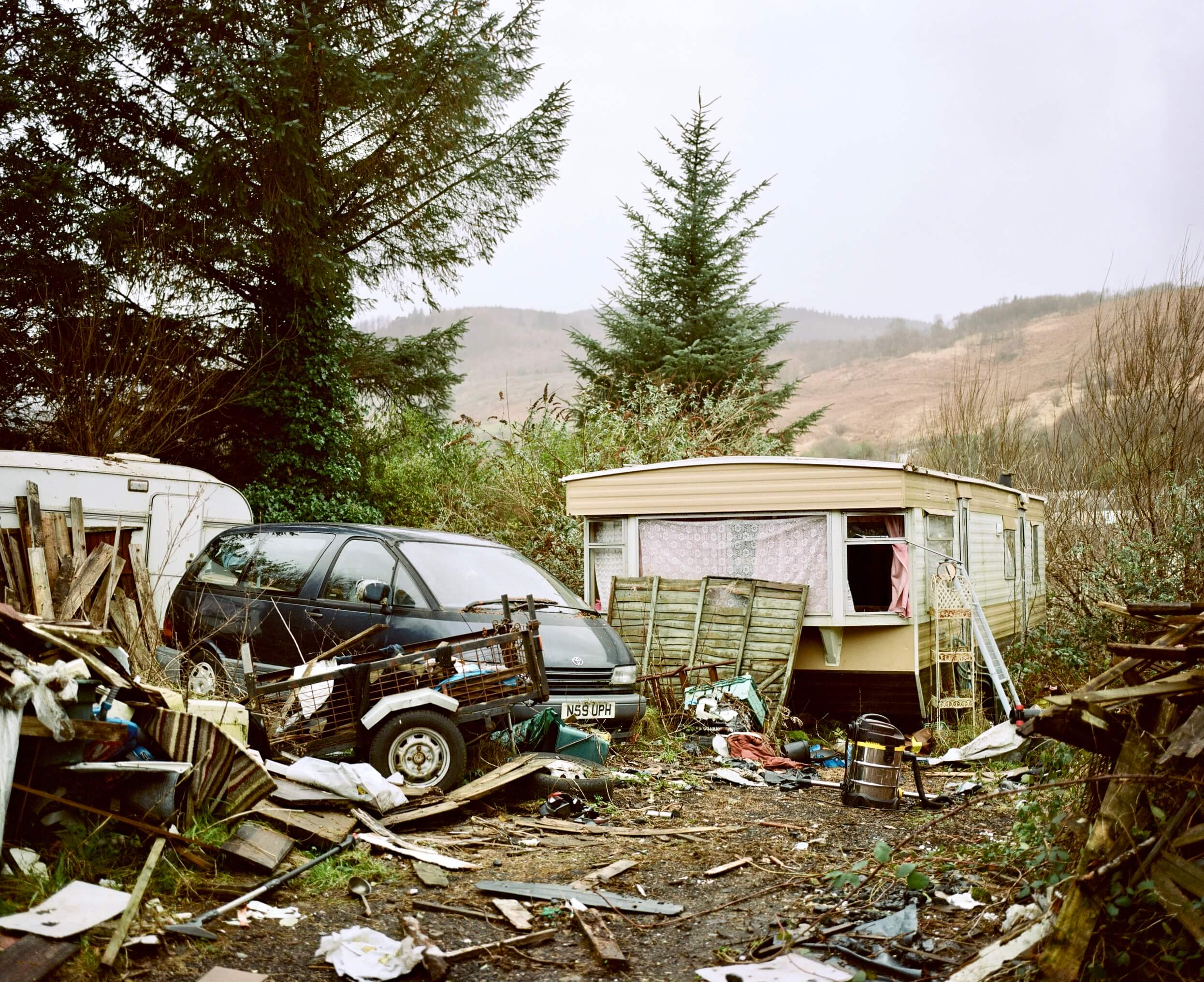 junkyard and caravan the south west collective of photography