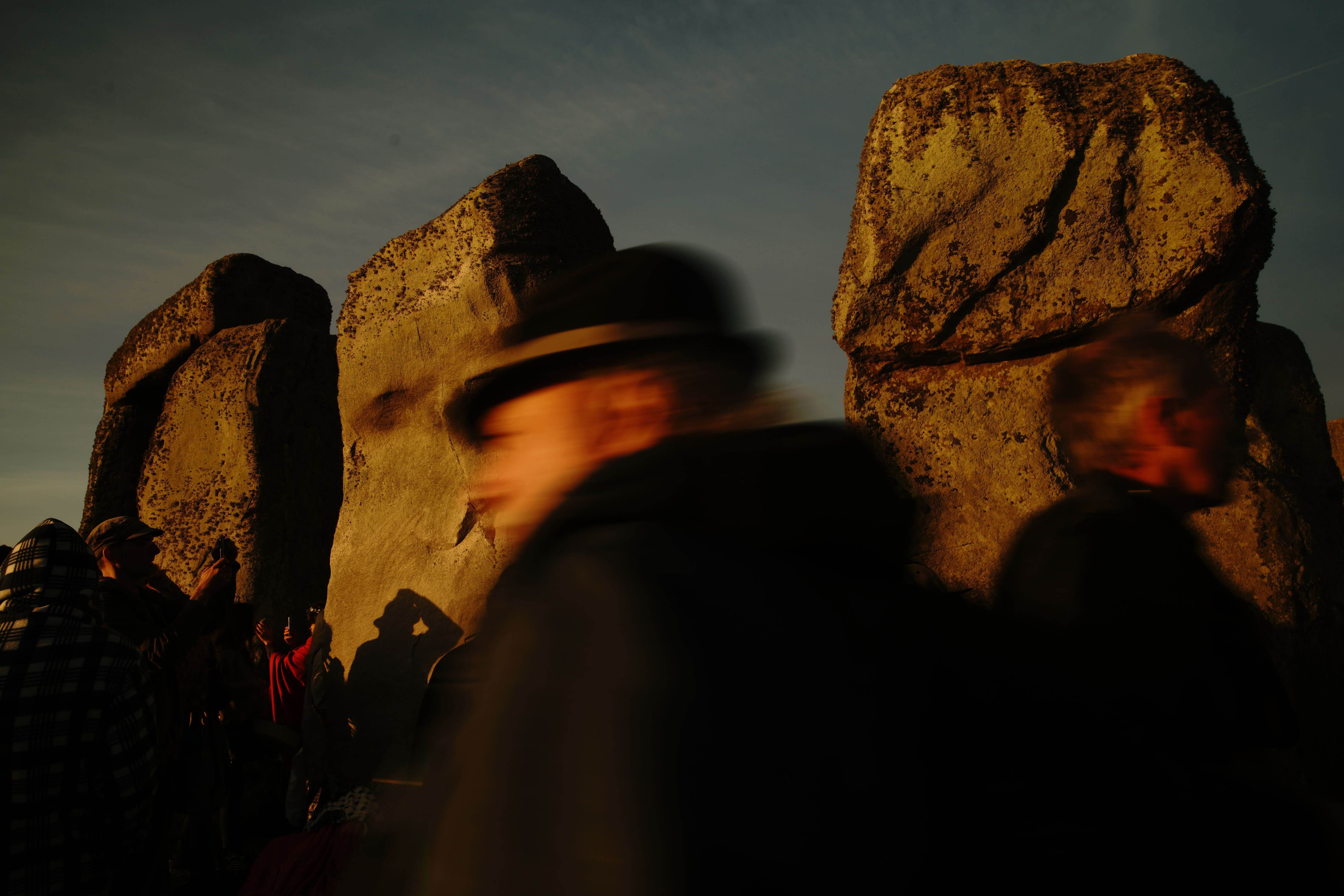 ana paganini stonehenge Summer and Winter Solstices the south west collective of photography people walking around stonehenge