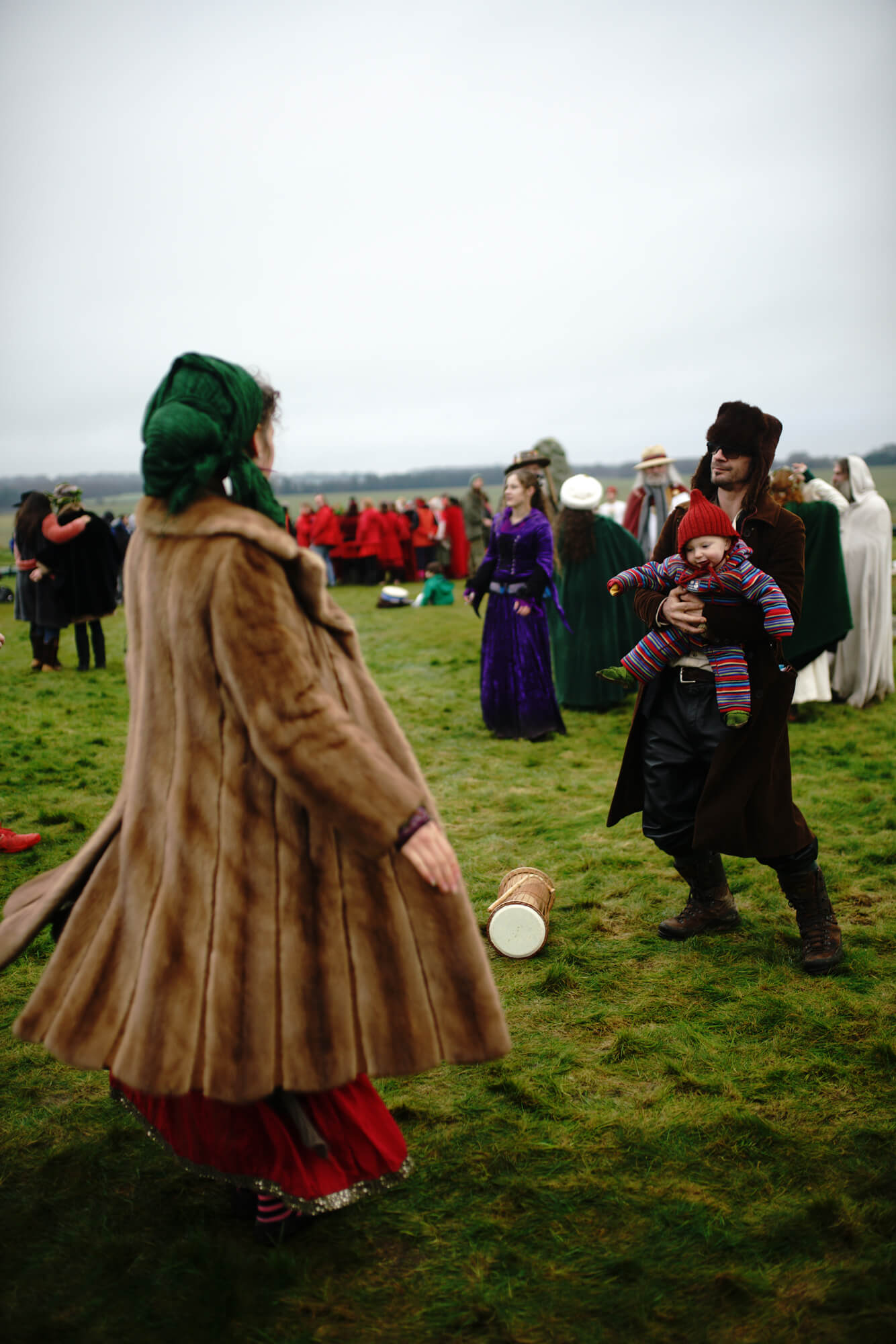 ana paganini stonehenge Summer and Winter Solstices the south west collective of photography family playing at stonehenge