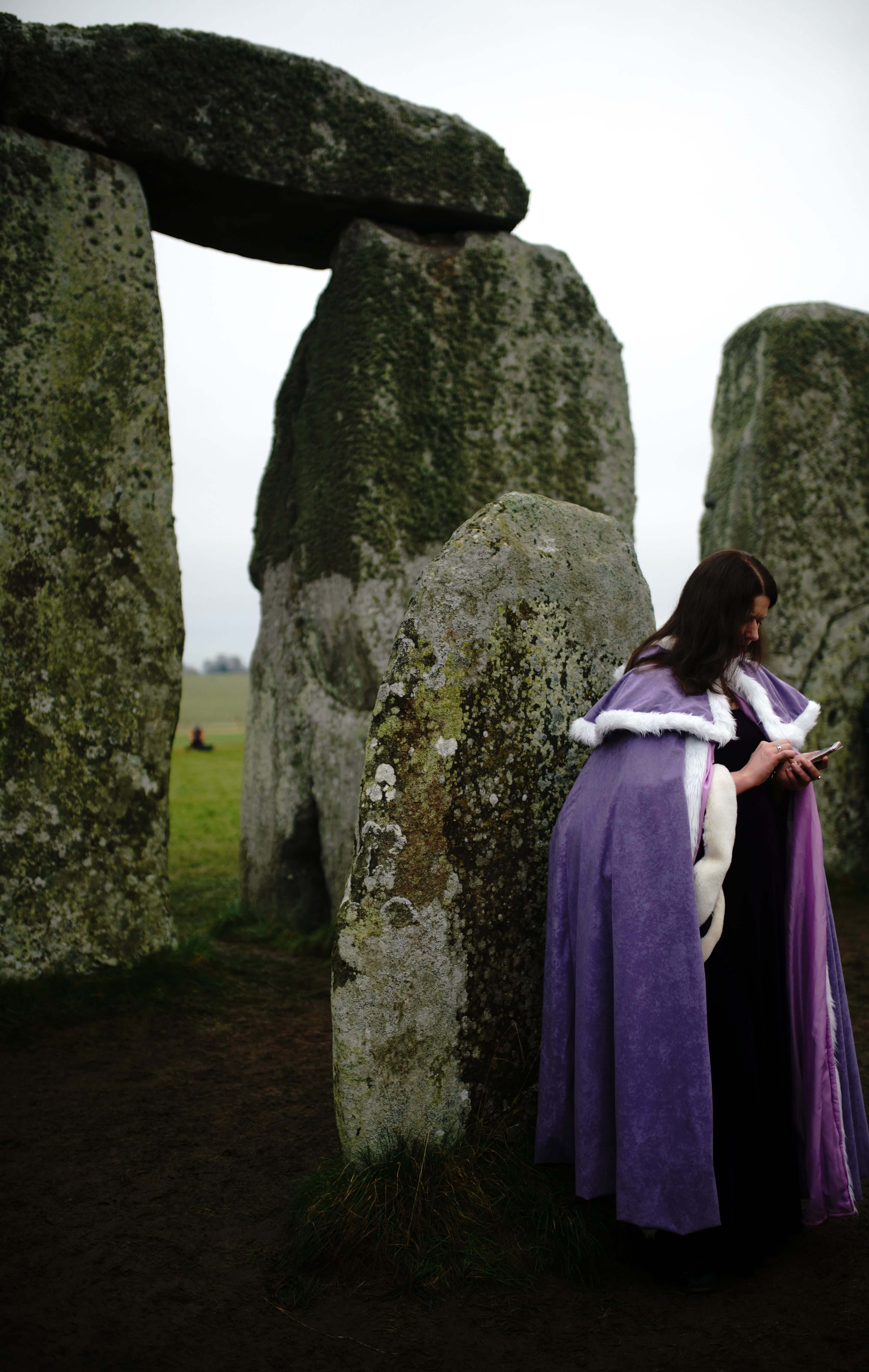 ana paganini stonehenge Summer and Winter Solstices the south west collective of photography women stood at stonehenge