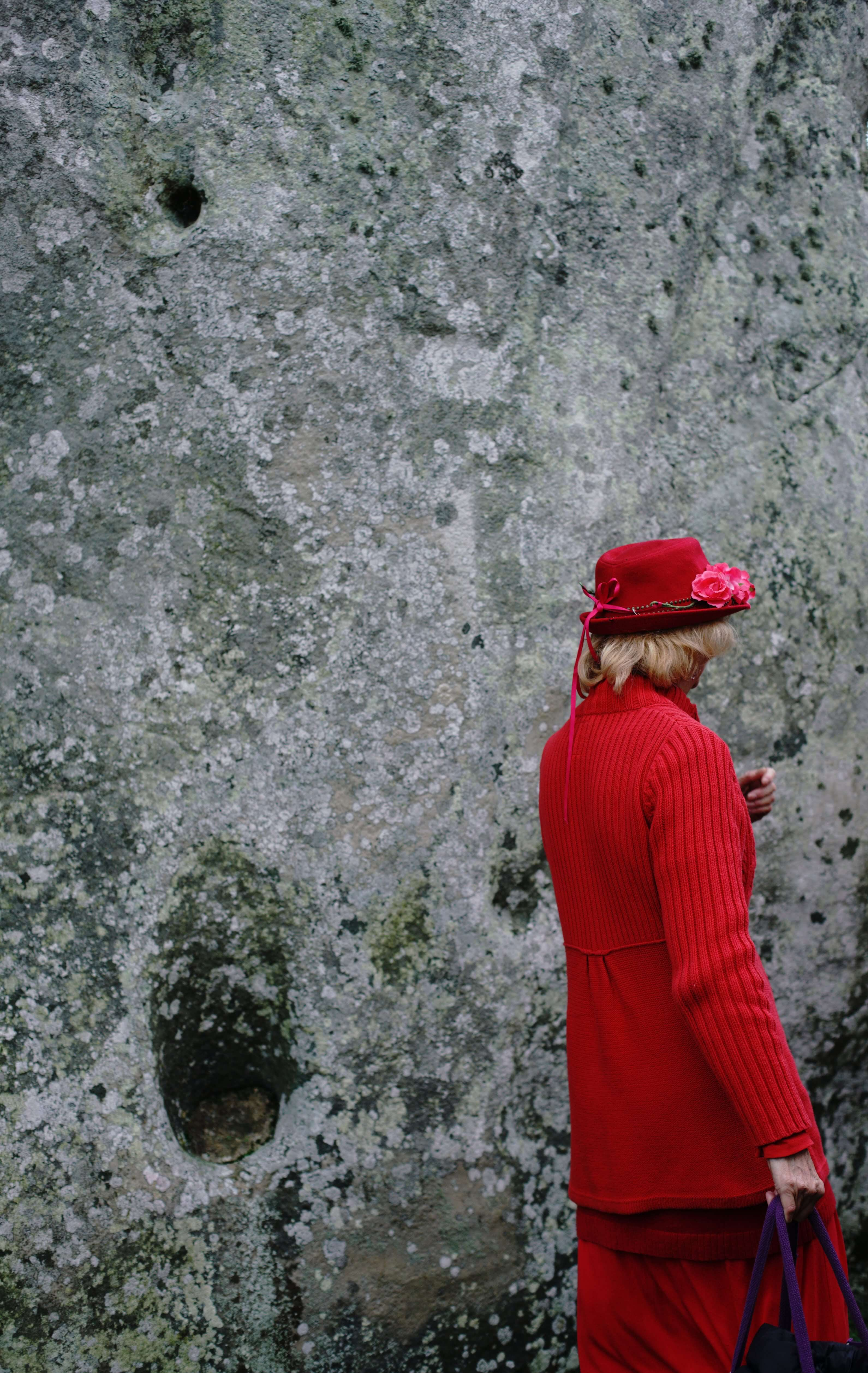 ana paganini stonehenge Summer and Winter Solstices the south west collective of photography lady in red