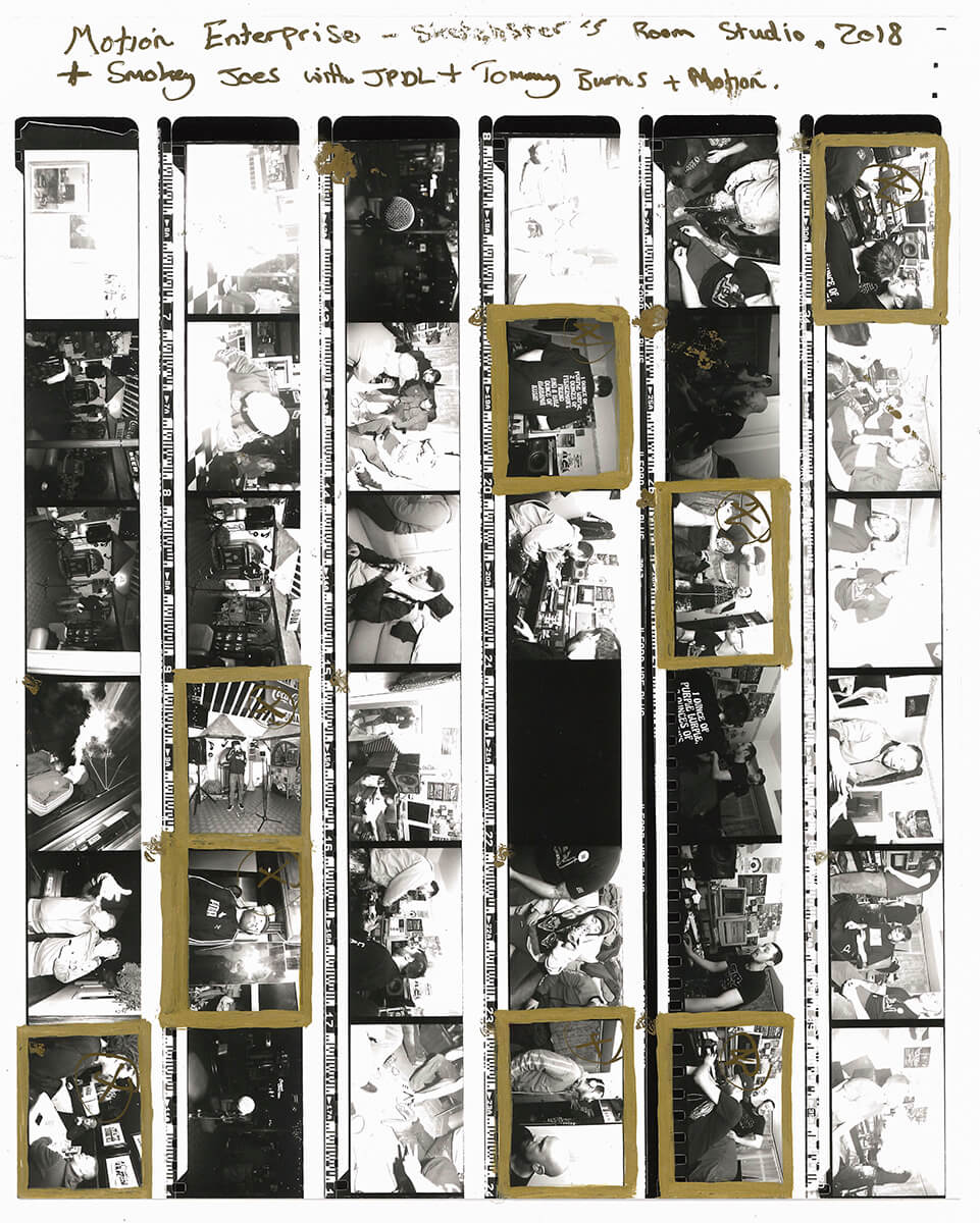ryan free high culture the south west collective of photography black and white contact sheet