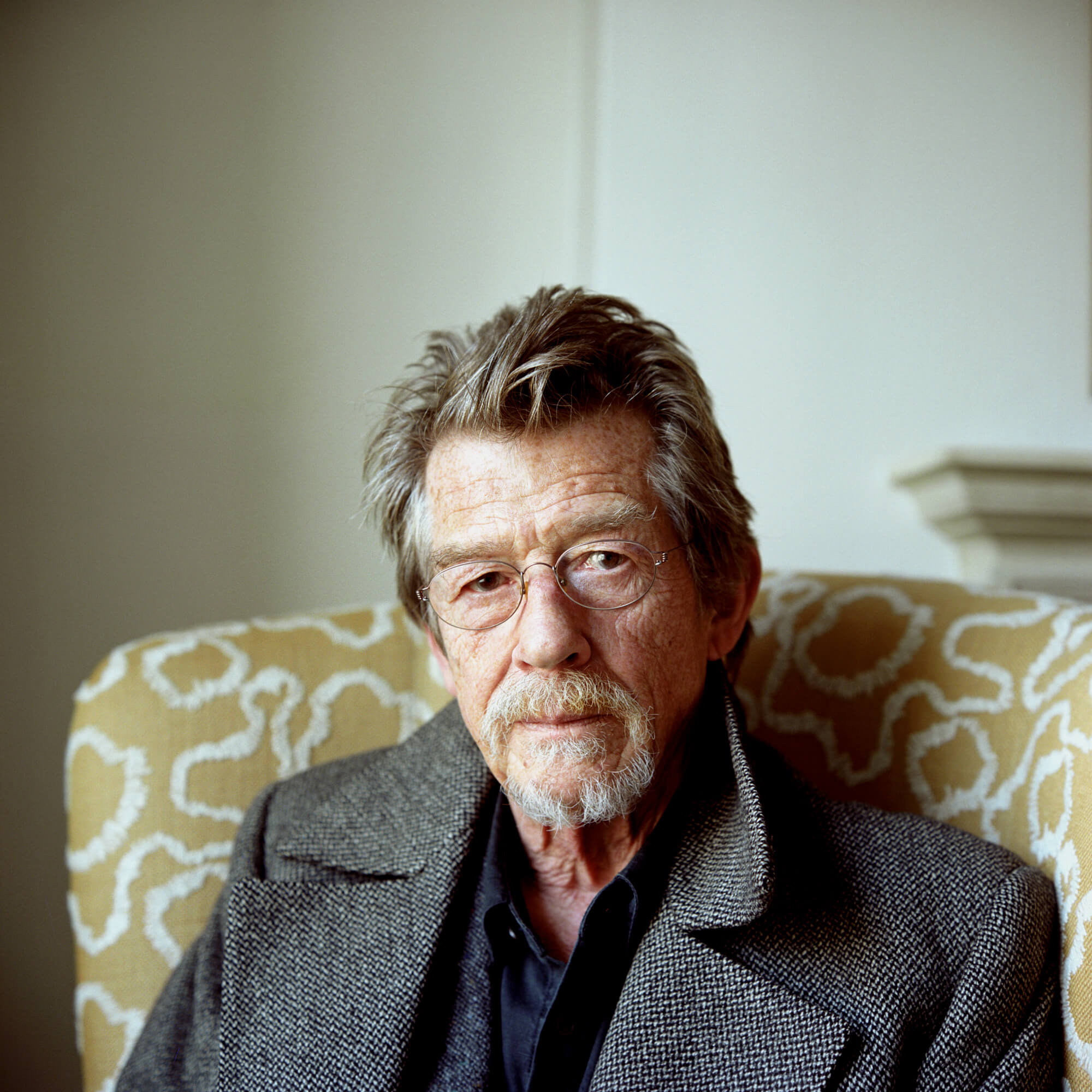 Toby Glanville, John Hurt portrait the south west collective of photography ltd