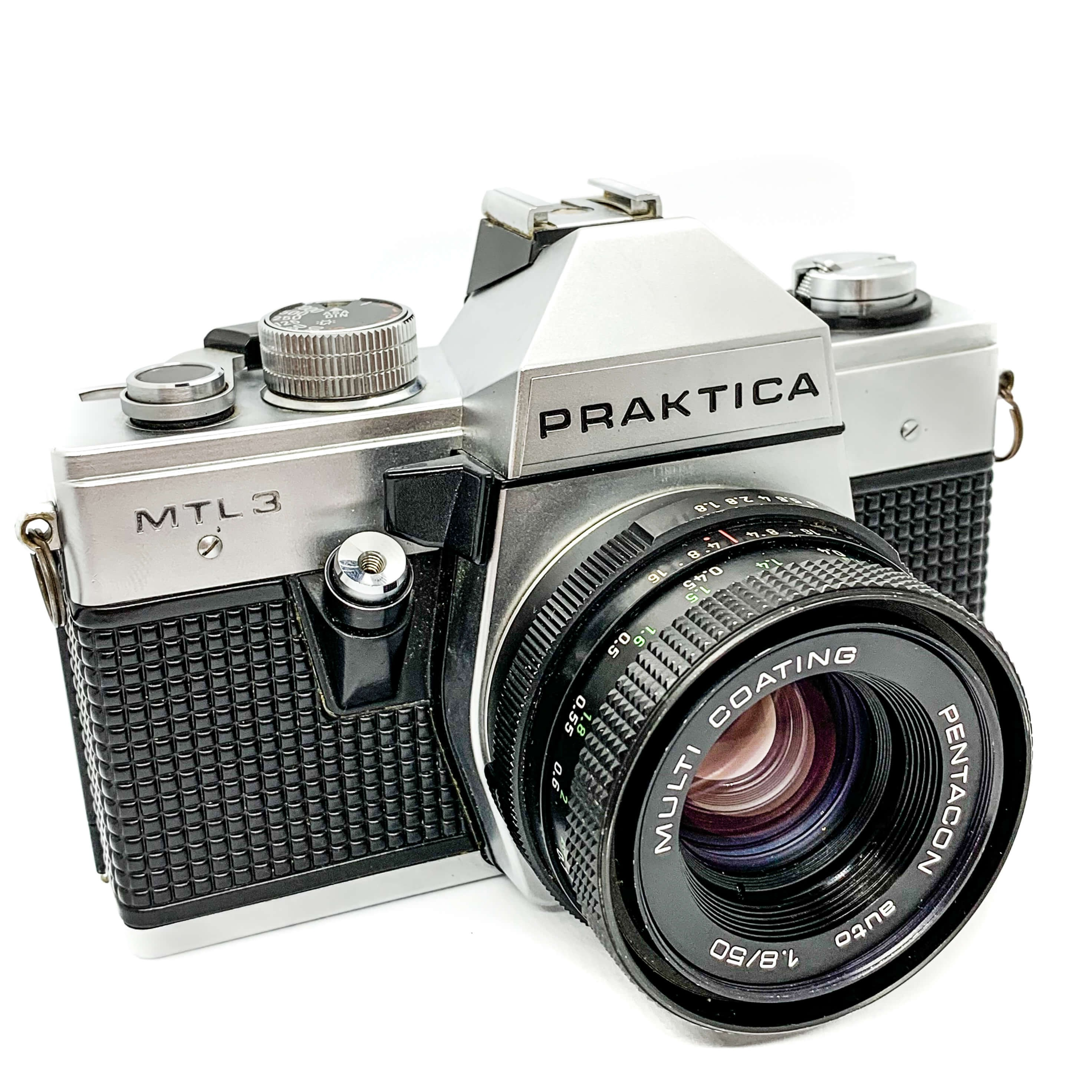 Praktica MTL3 35mm film camera for Kodak Fujifilm the south west collective of photography ltd
