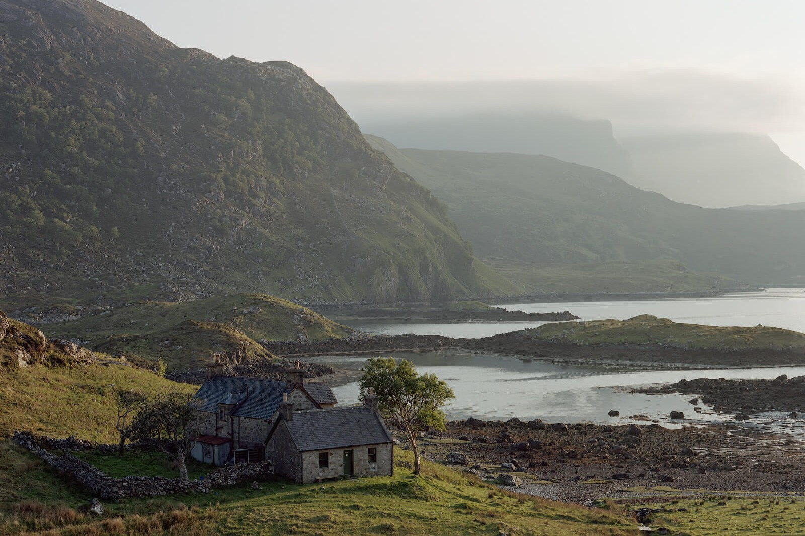Nicholas White, Glencoul, Northern Highlands, Scotland, The South West Collective of photography Ltd