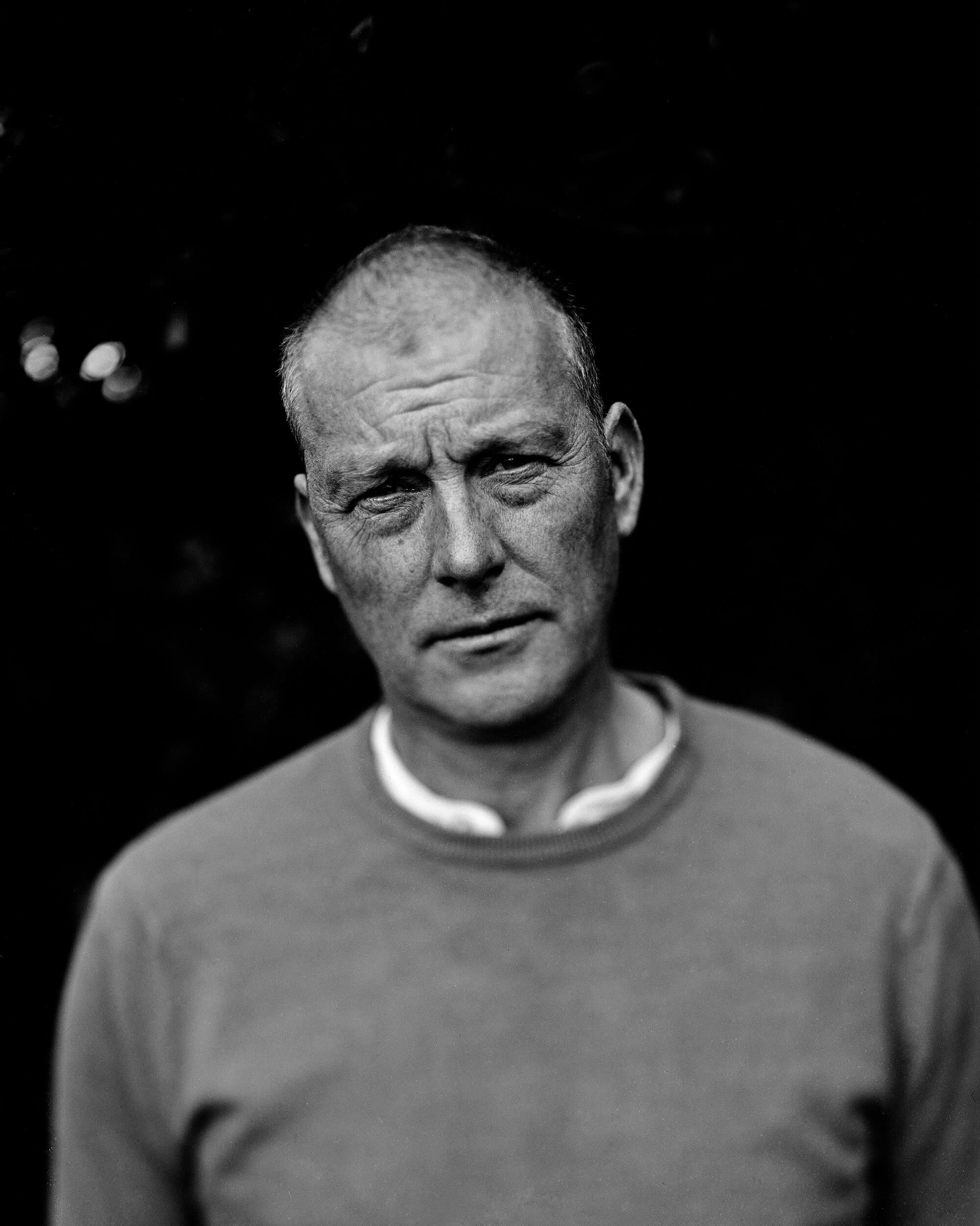 Abbie platt landscape the south west collective of photography black and white affair portrait of man