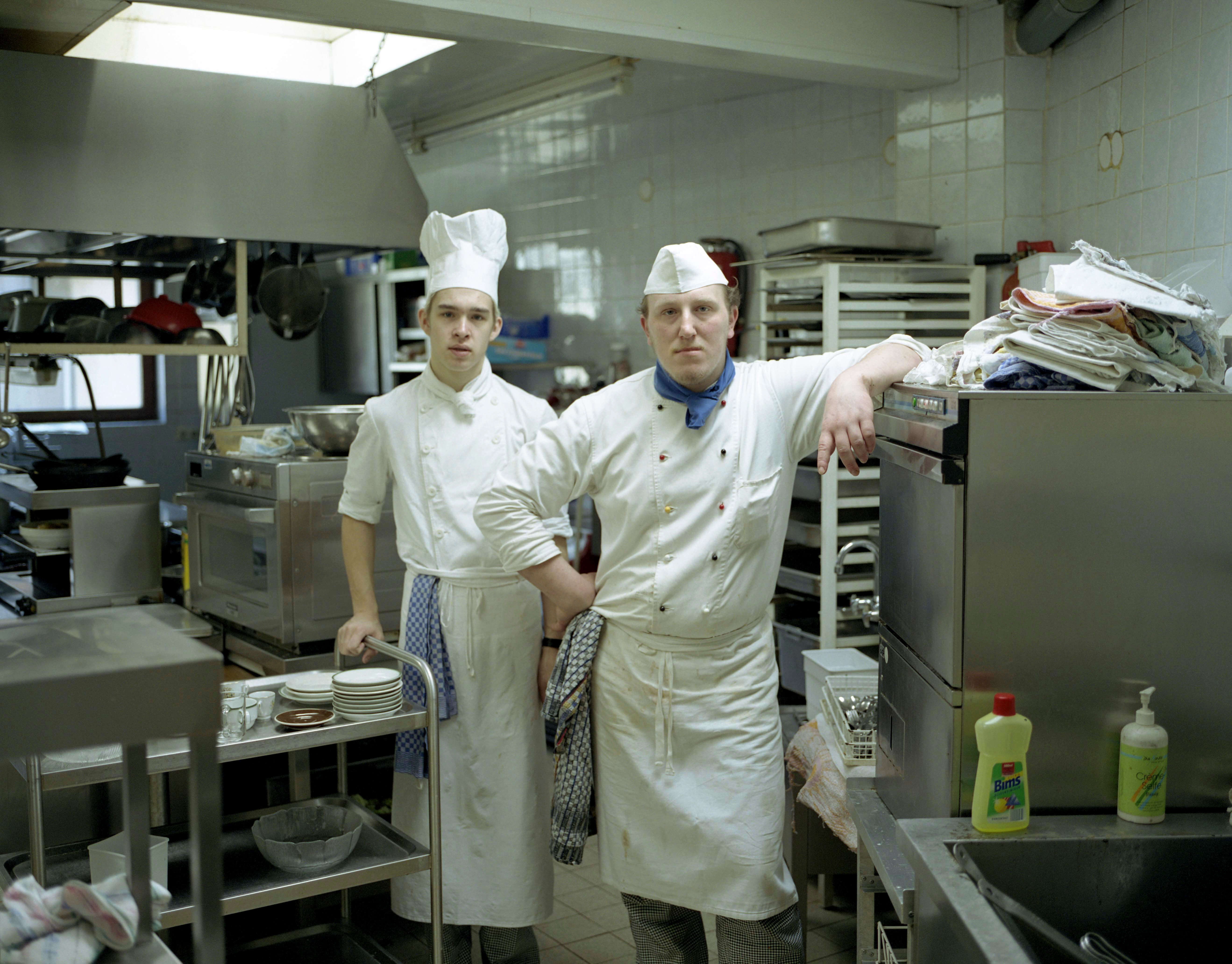 Toby Glanville, Rhine Chefs, The south west collective of photography ltd