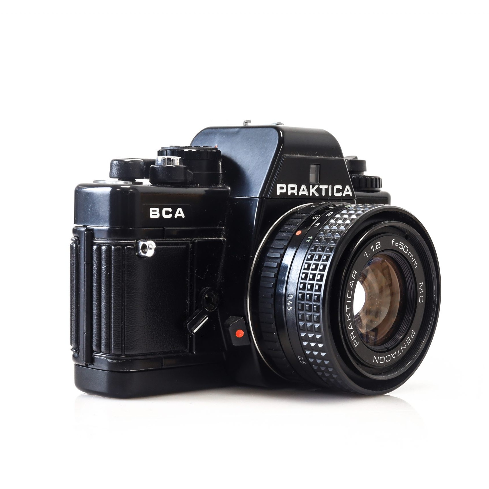 Gorgeous Praktica BCA 35mm Film Camera with 50mm F1.8 lens (Tested and Working)