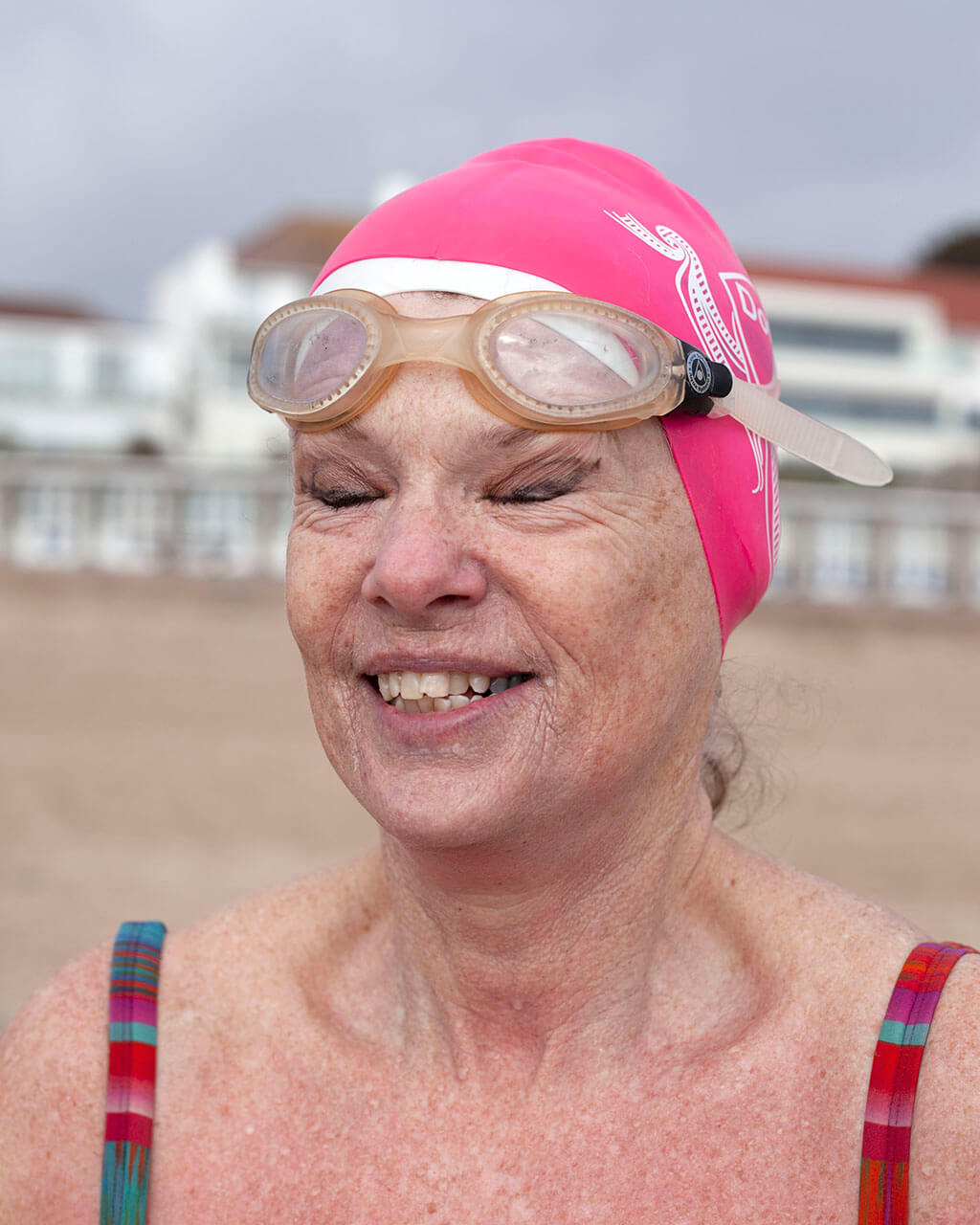 Kate Wolstenholme littoral the south west collective of photography portrait of swimmer