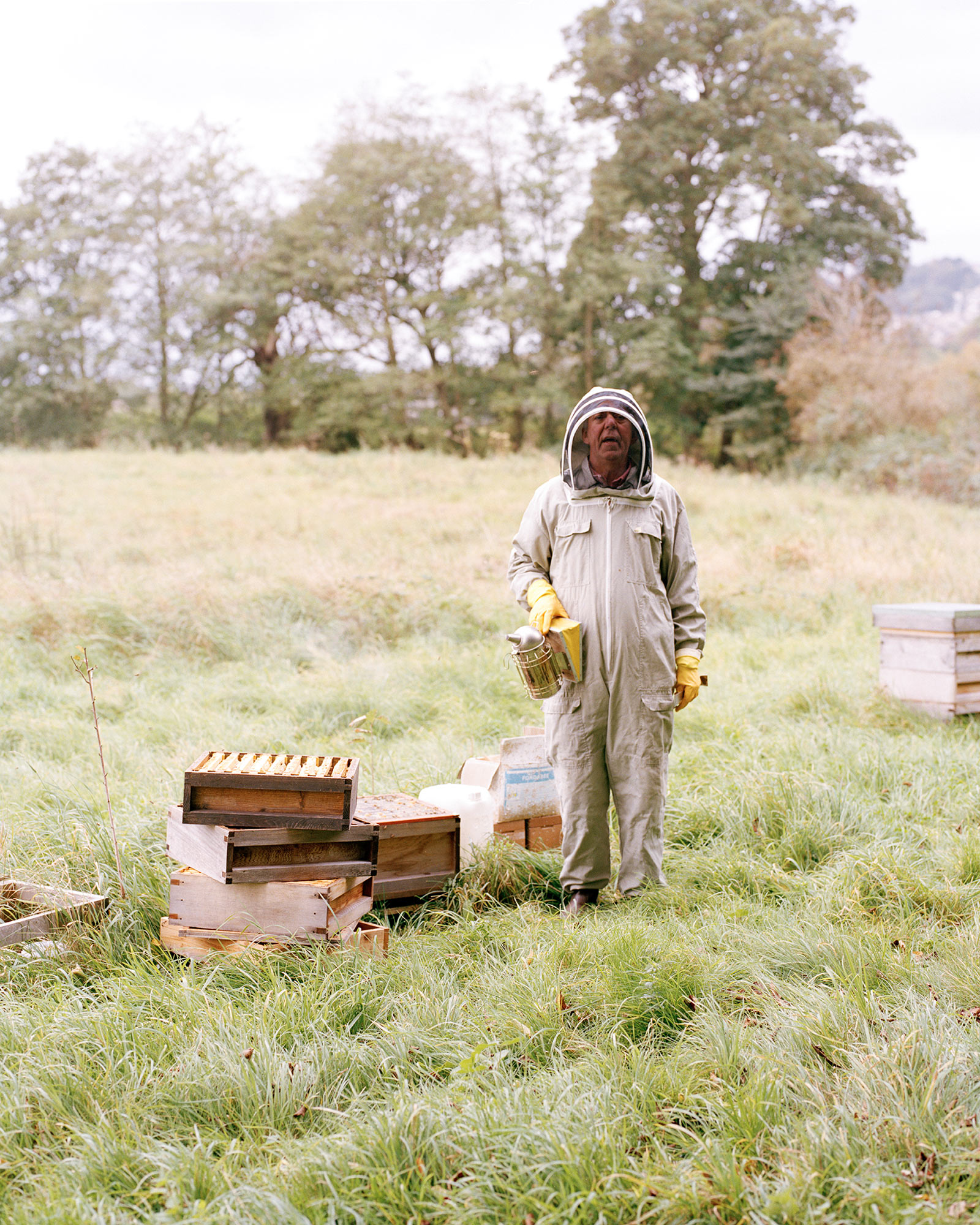 James Arthur Allen interview the south west collective of photography bee keeper