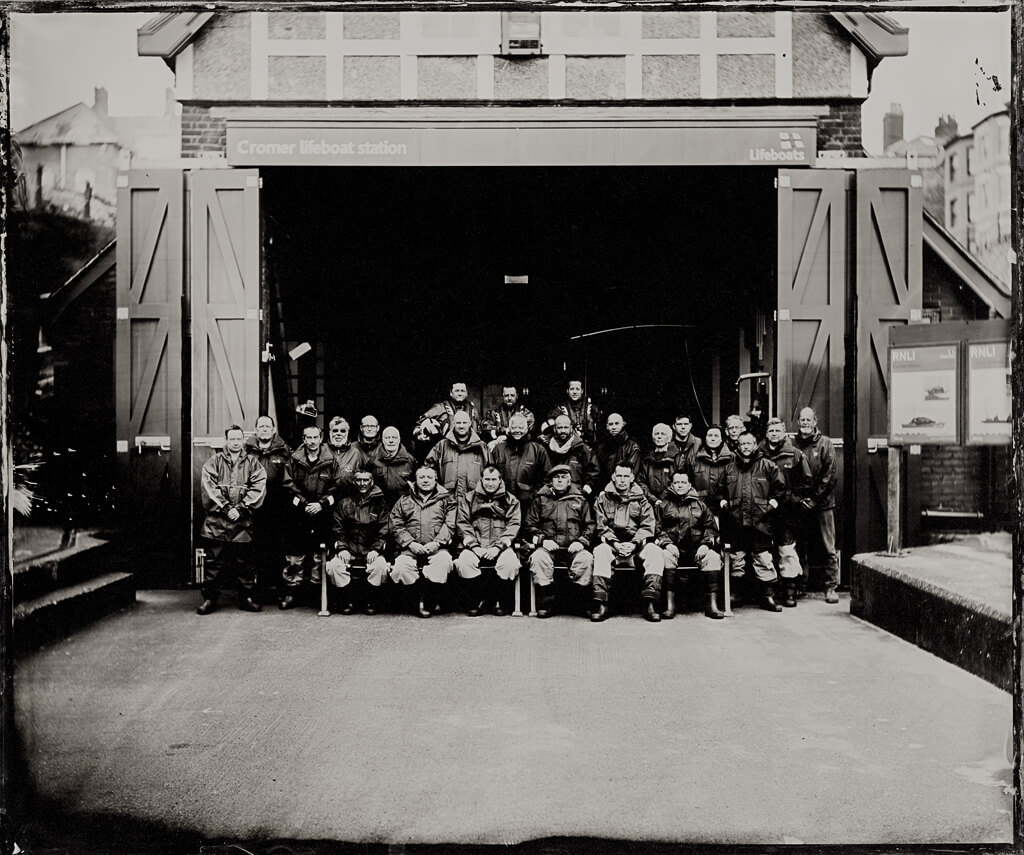 Life Boat Station Project Jack Lowe crew picture the south west collective of photography