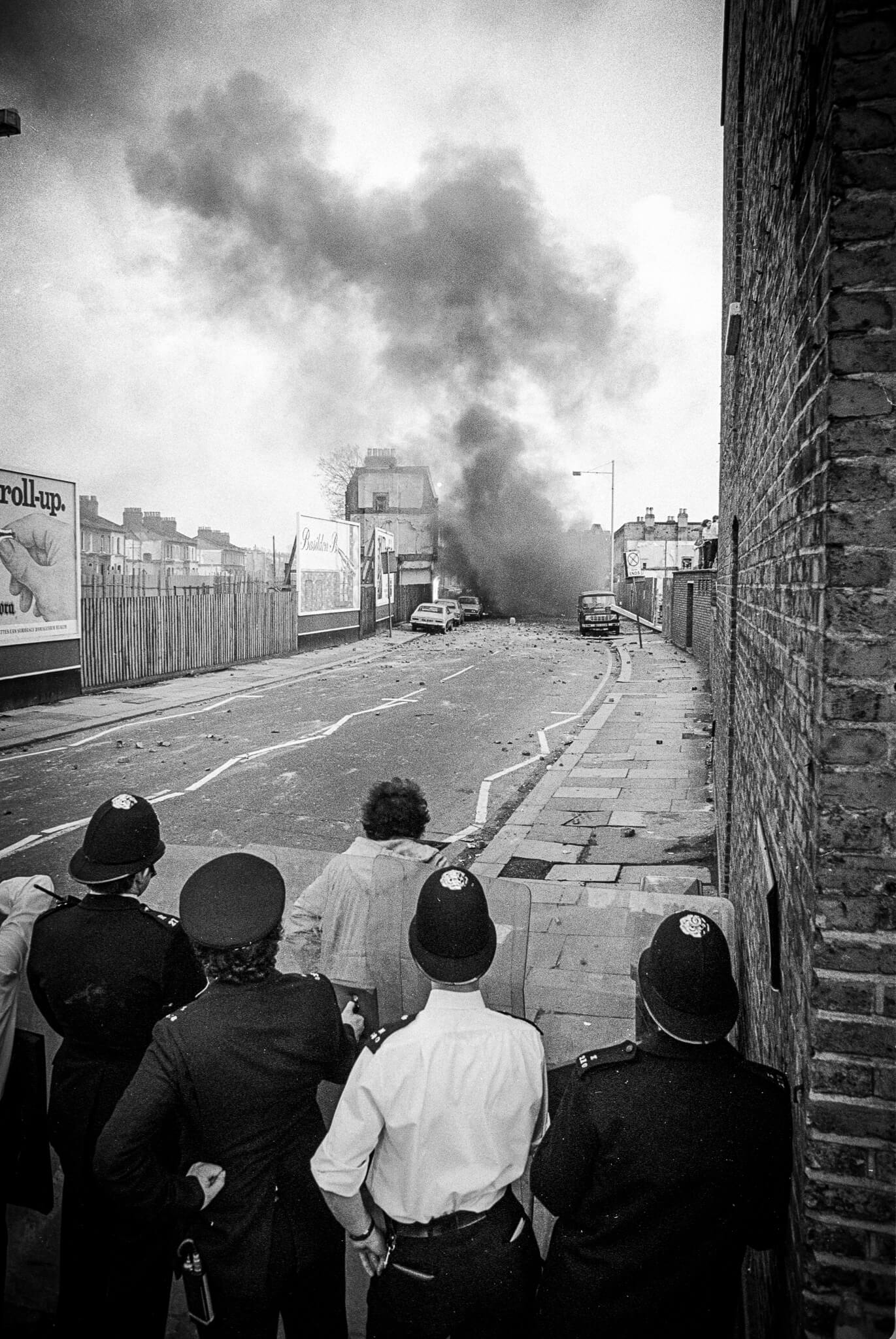 Kim Aldis - The Brixton Riots of 1981 in Pictures