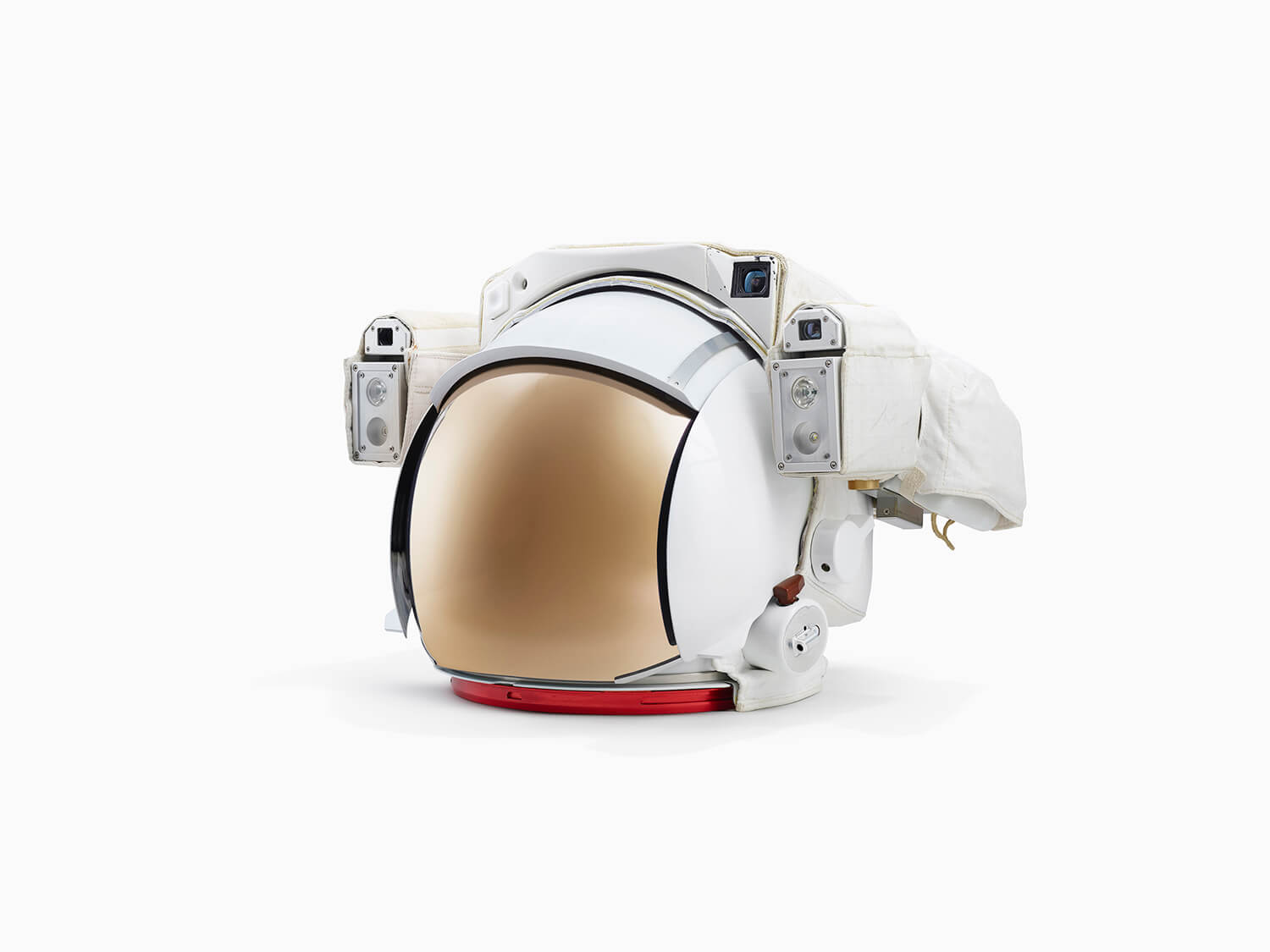 EXTRAVEHICULAR MOBILITY UNIT (EMU) SPACE SUIT HELMET - JOHNSON SPACE CENTRE