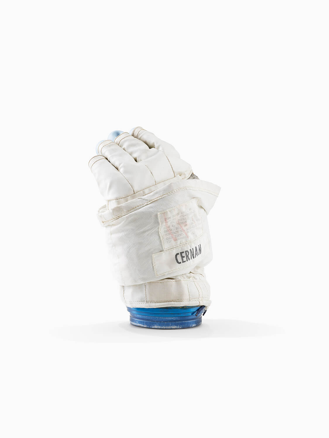 GENE CERNAN'S APOLLO A7L SPACE SUIT TRAINING GLOVE - JOHNSON SPACE CENTRE