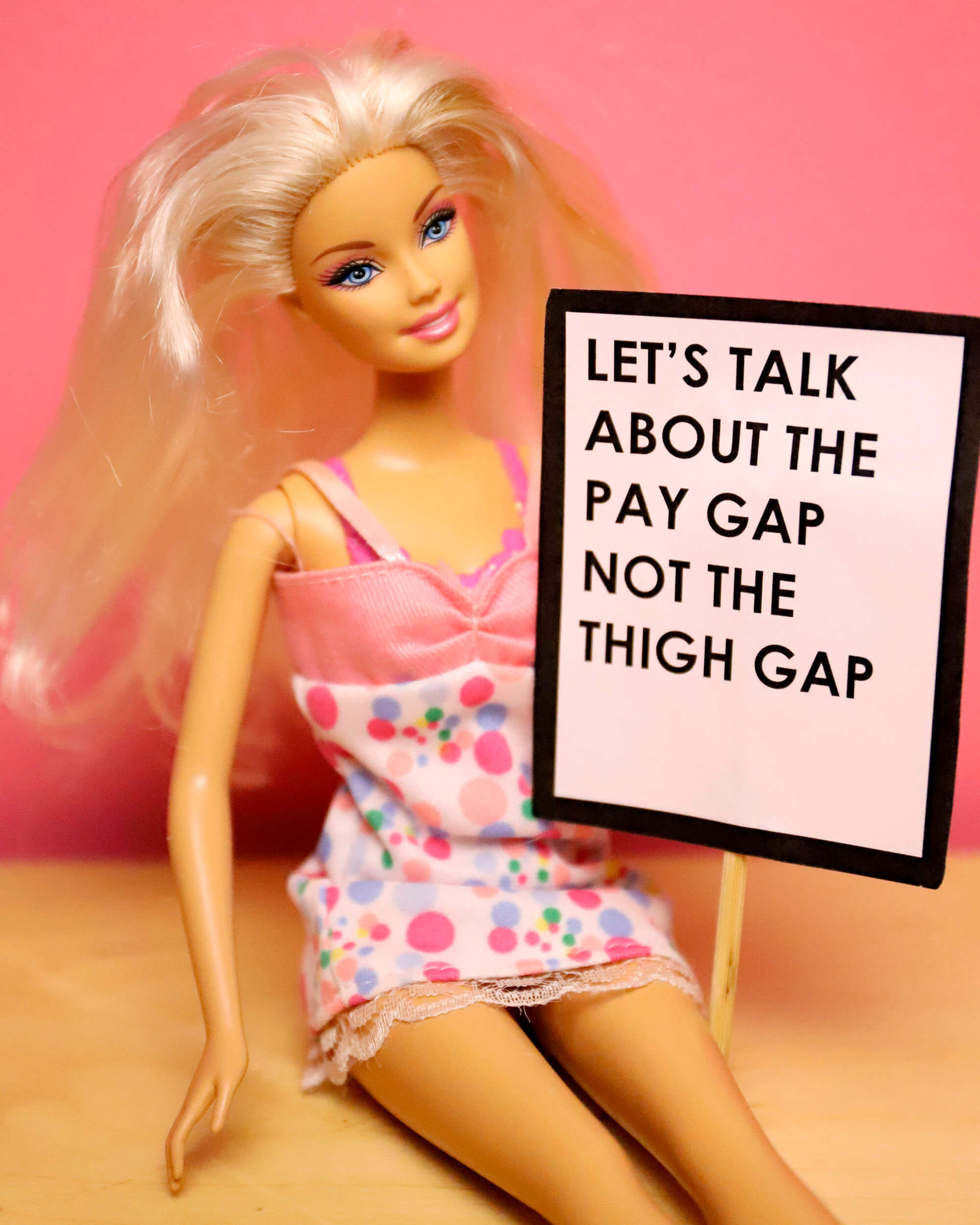 Gender pay gap image Zoë Bateman