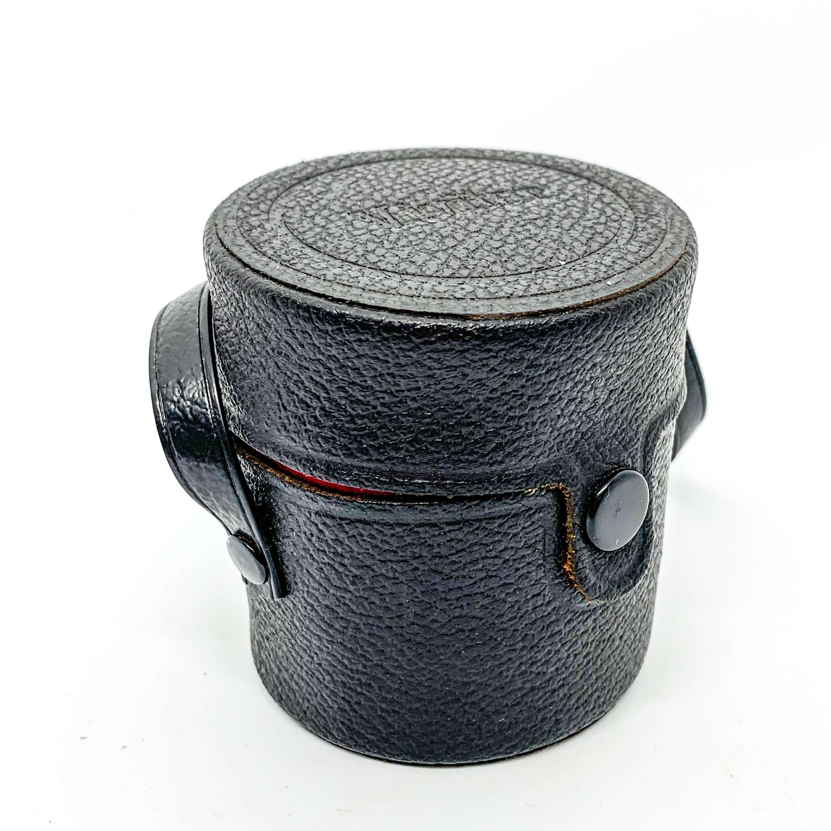 Stunning Vintage Vivitar Leather Lens Case