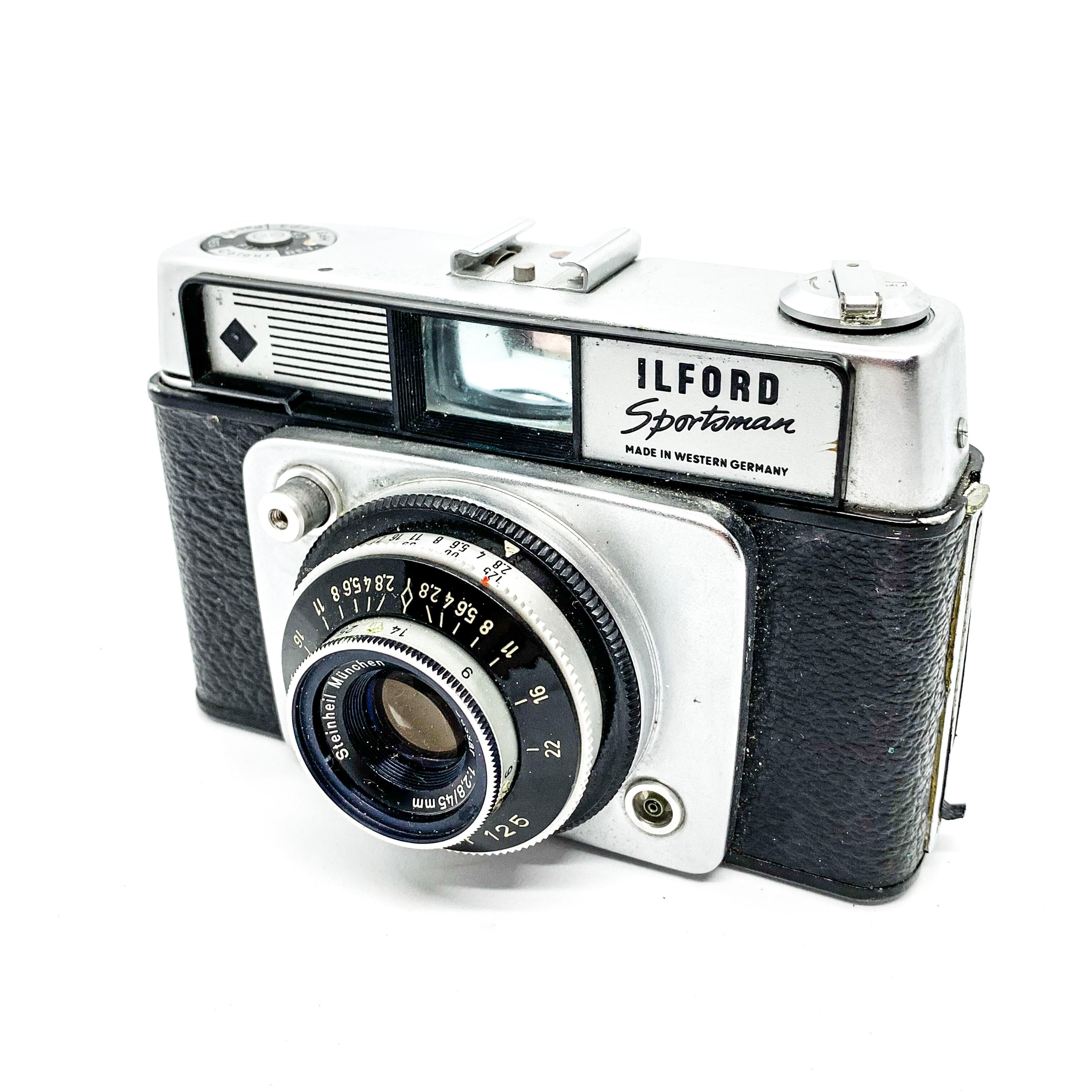 Vintage Ilford Sportsman 35mm Rangefinder Camera