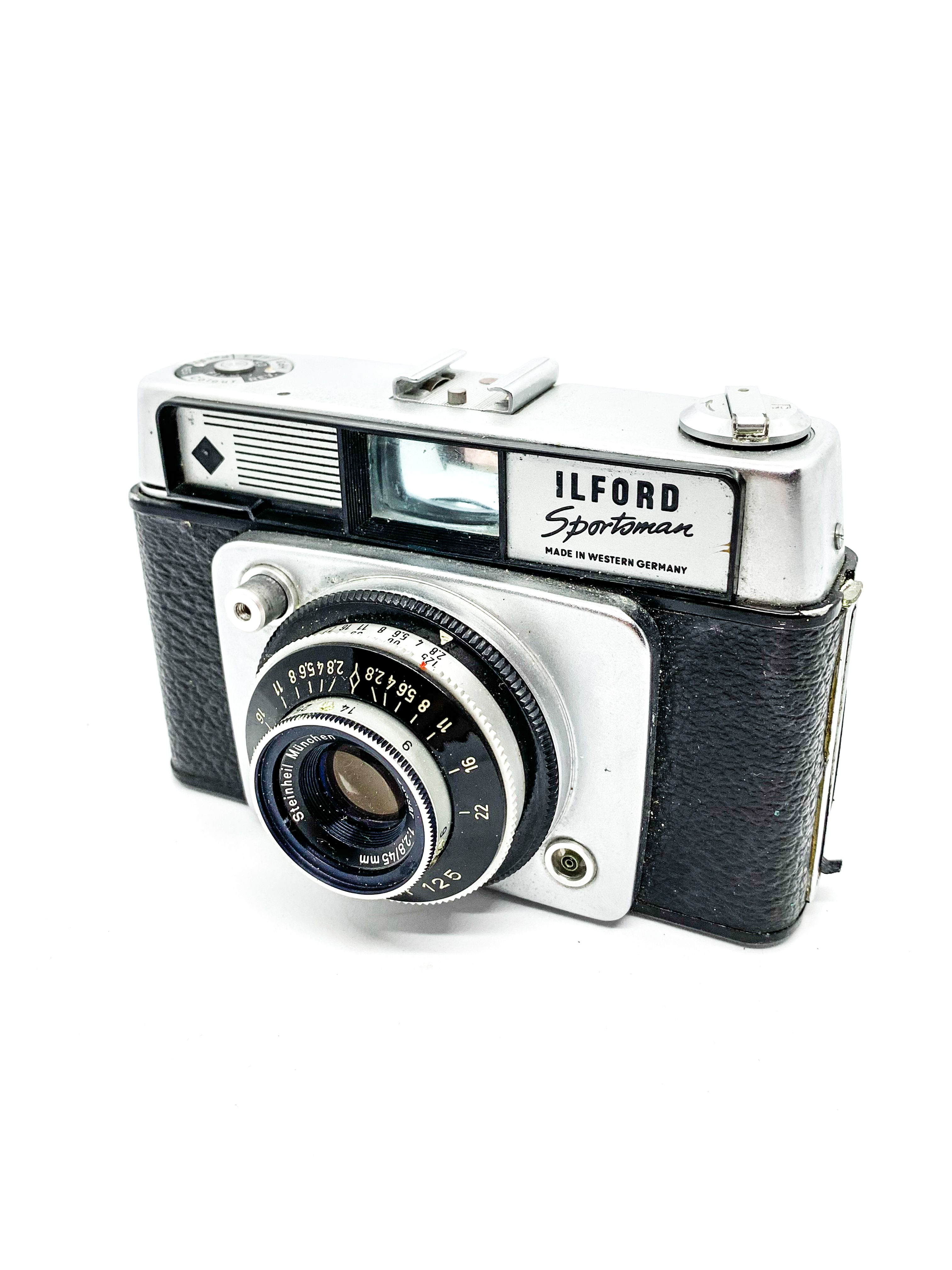 Vintage Ilford Sportsman 35mm Rangefinder Camera