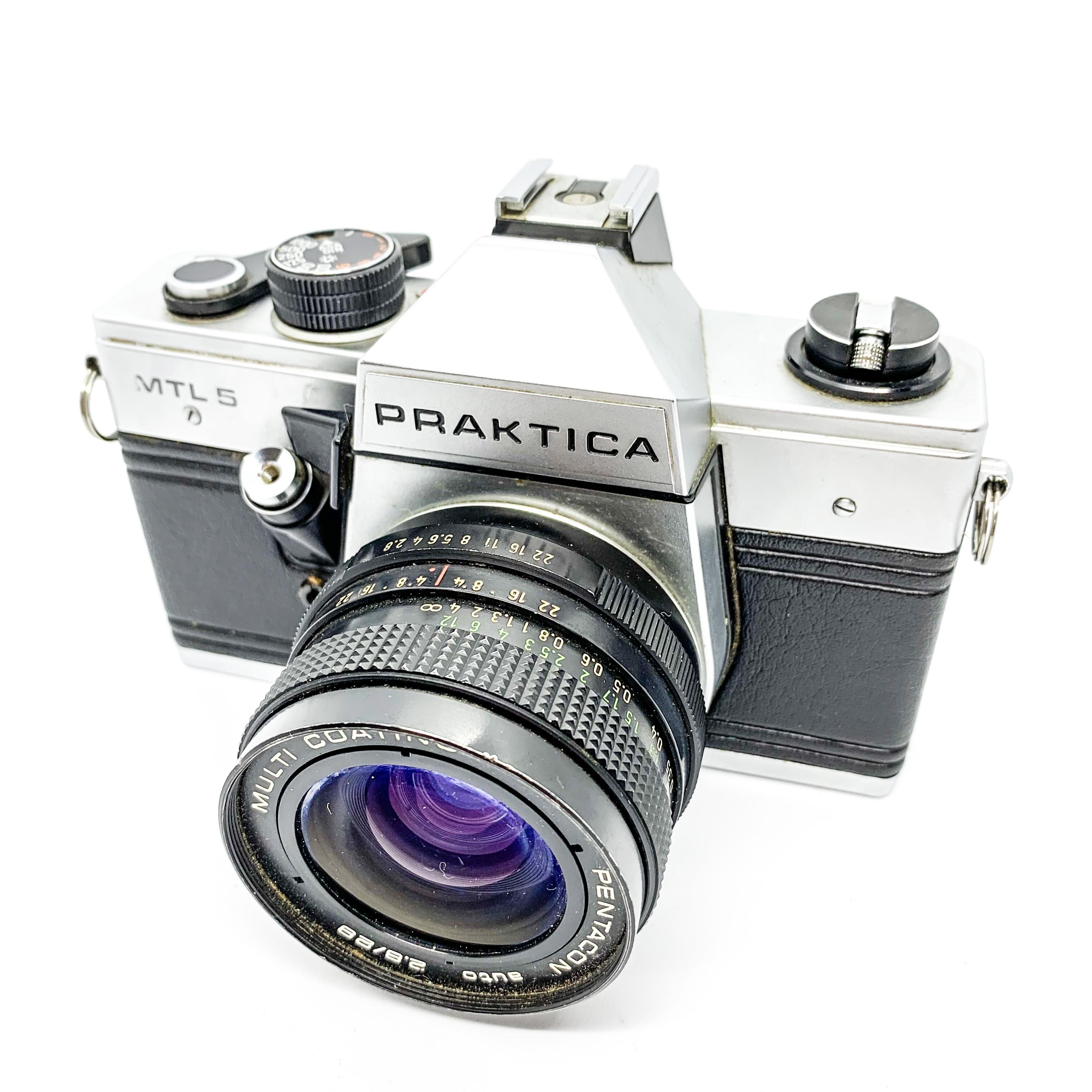 Pentax K1000 35mm Camera + 2 50mm Lenses + 28-80mm Lens (Spares and Repairs)