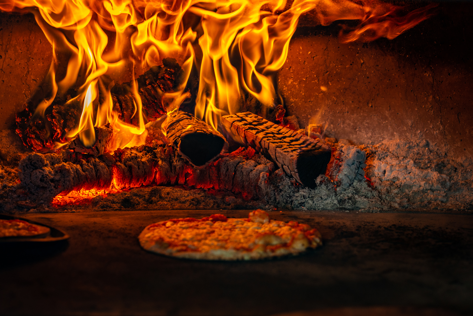 Dartmouth Food Festival 2019 pizza in oven