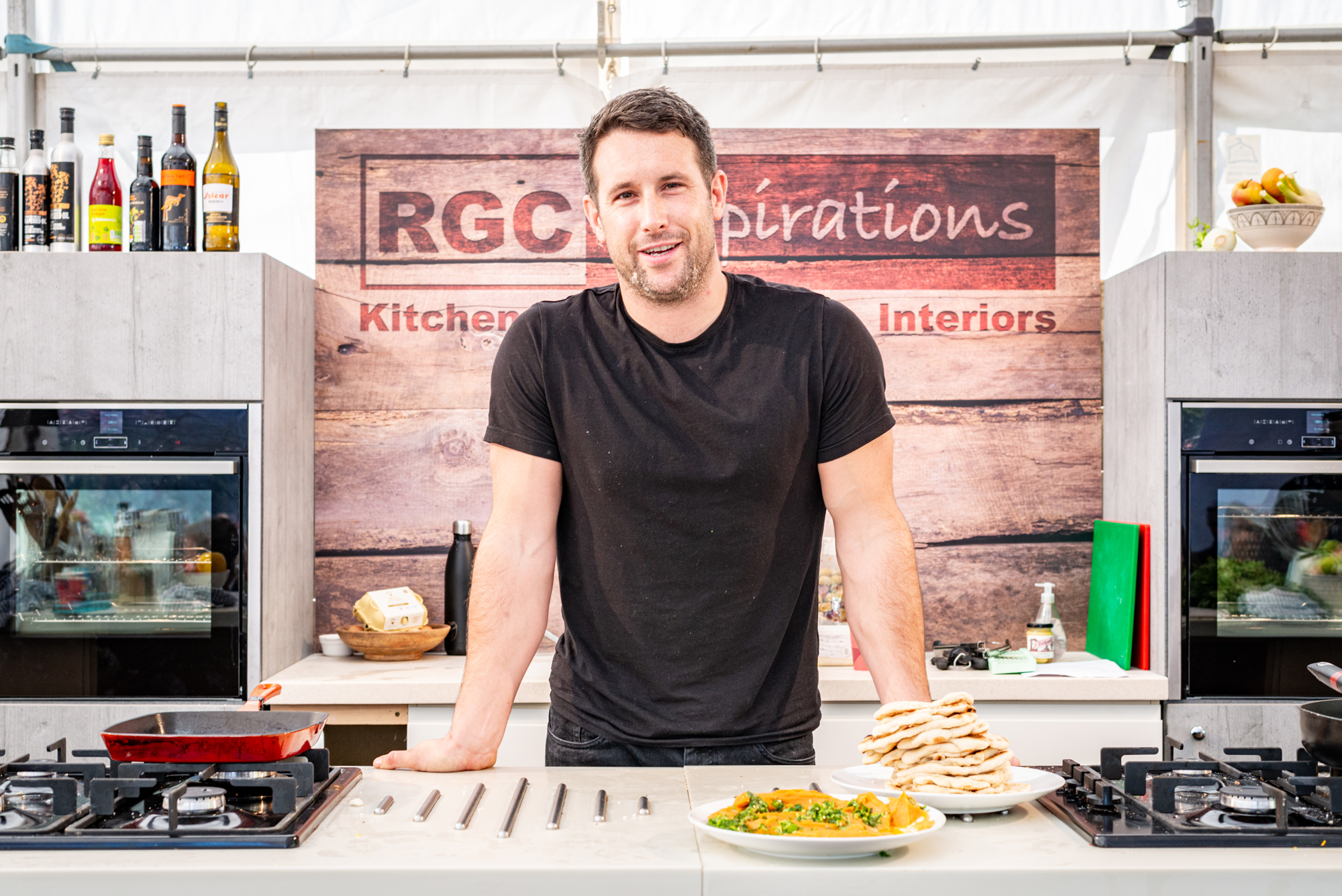 Dartmouth Food Festival 2019 chefs demo tent