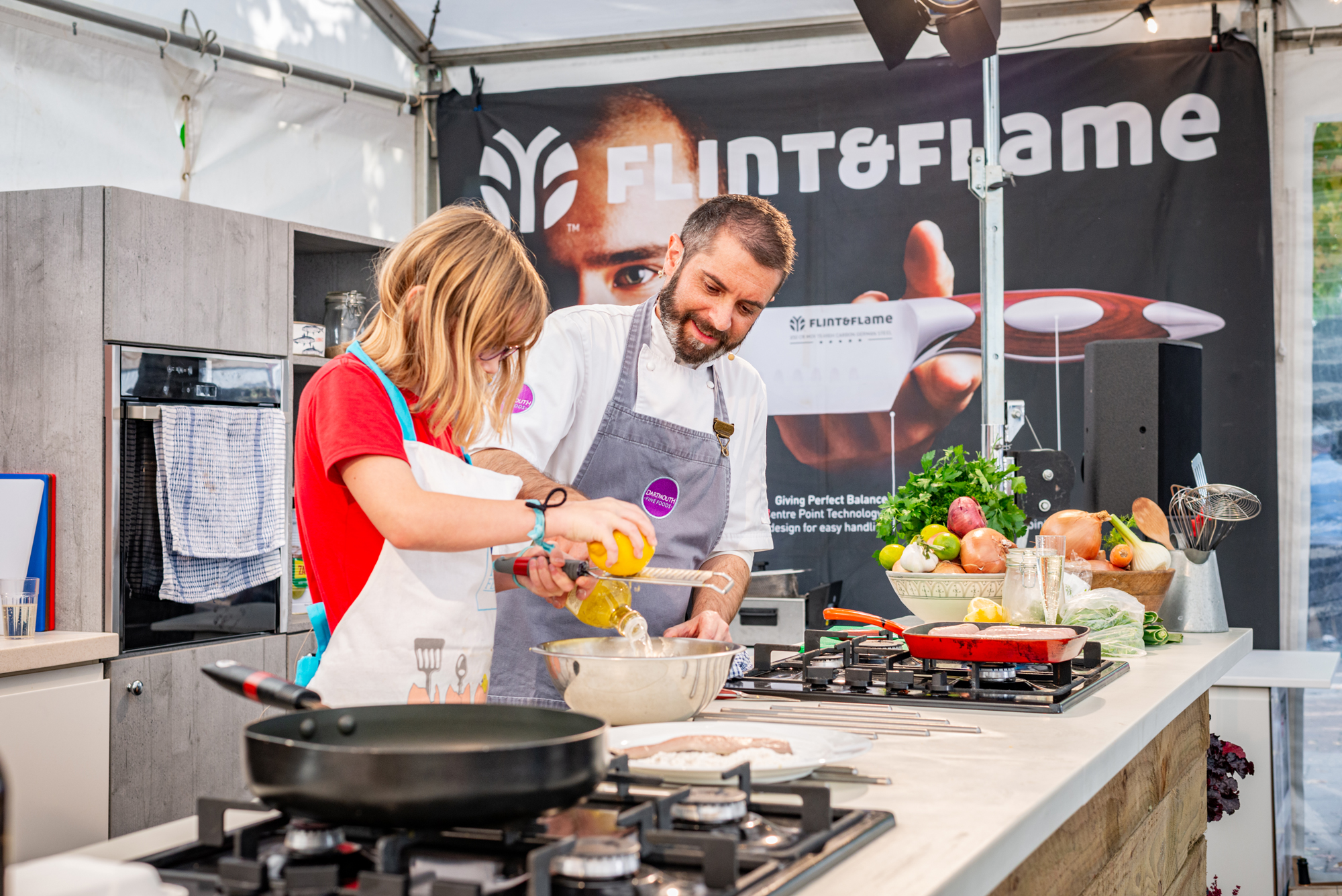 Dartmouth Food Festival 2019 chefs mash up Dartmouth fine foods