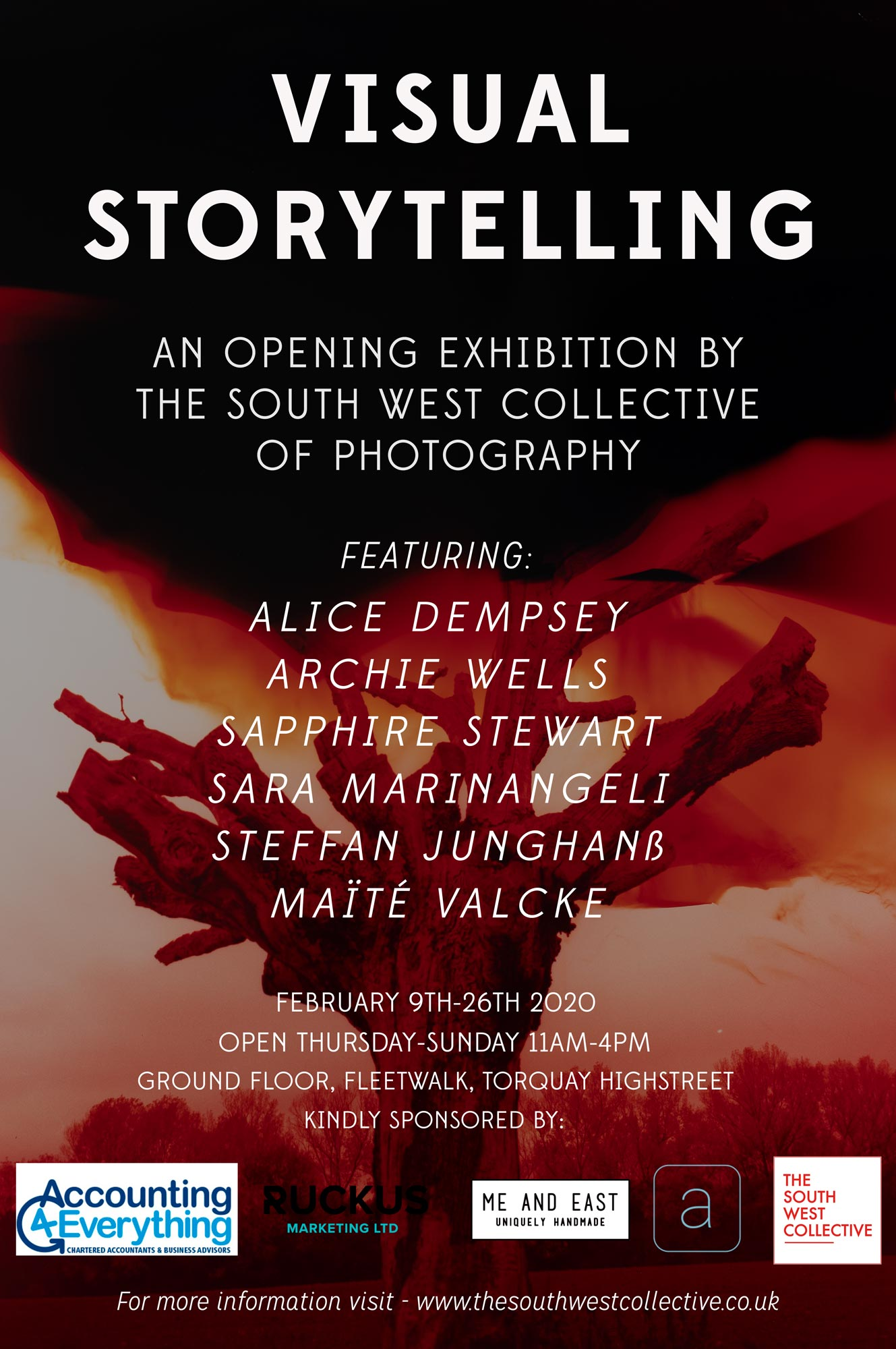 Visual Storytelling poster the south west collective of photography