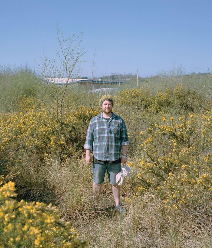 Jaime Molina - Gatherers man collecting berries
