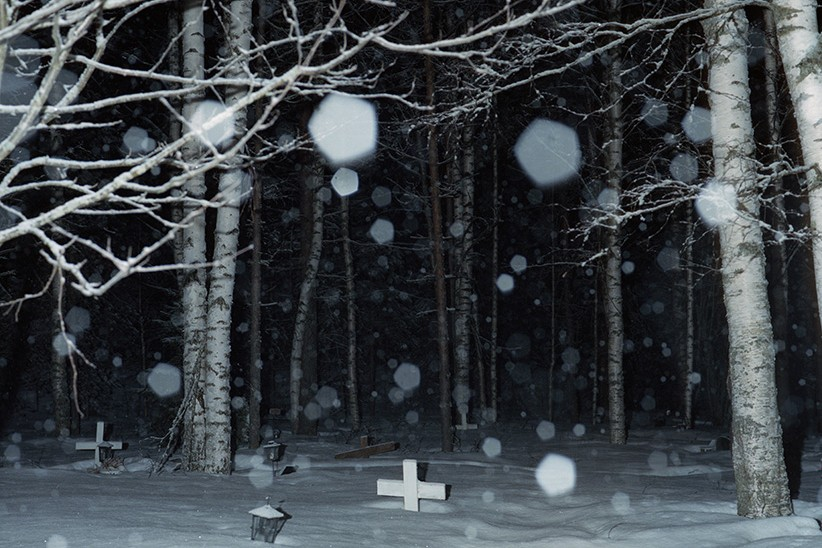 Jasmine Färling - Outokumpu the south west collective of photography snowing woodland