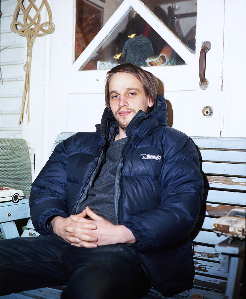 Jasmine Färling - Outokumpu the south west collective of photography man sat down outside