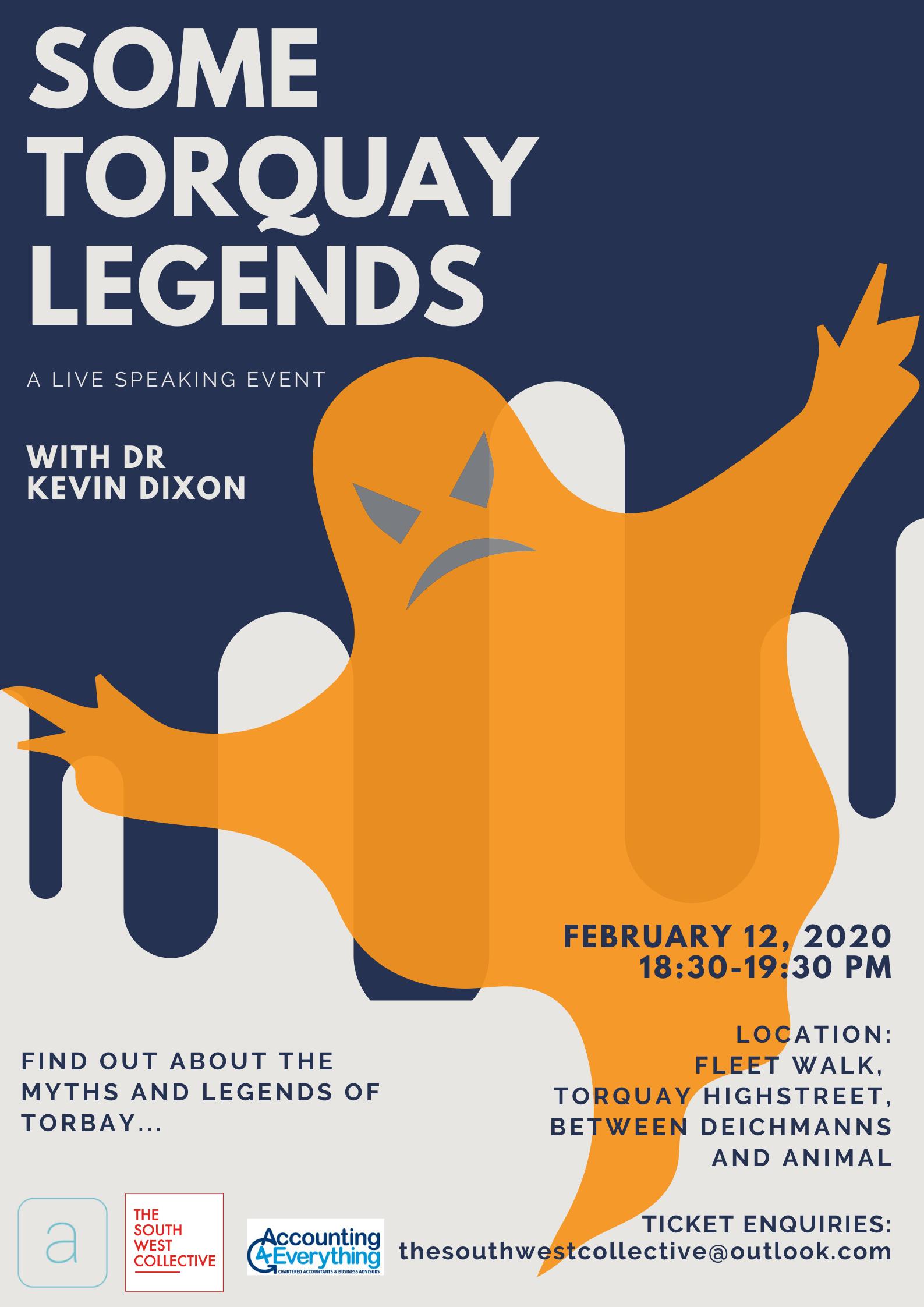 some torquay legends dr Kevin Dixon