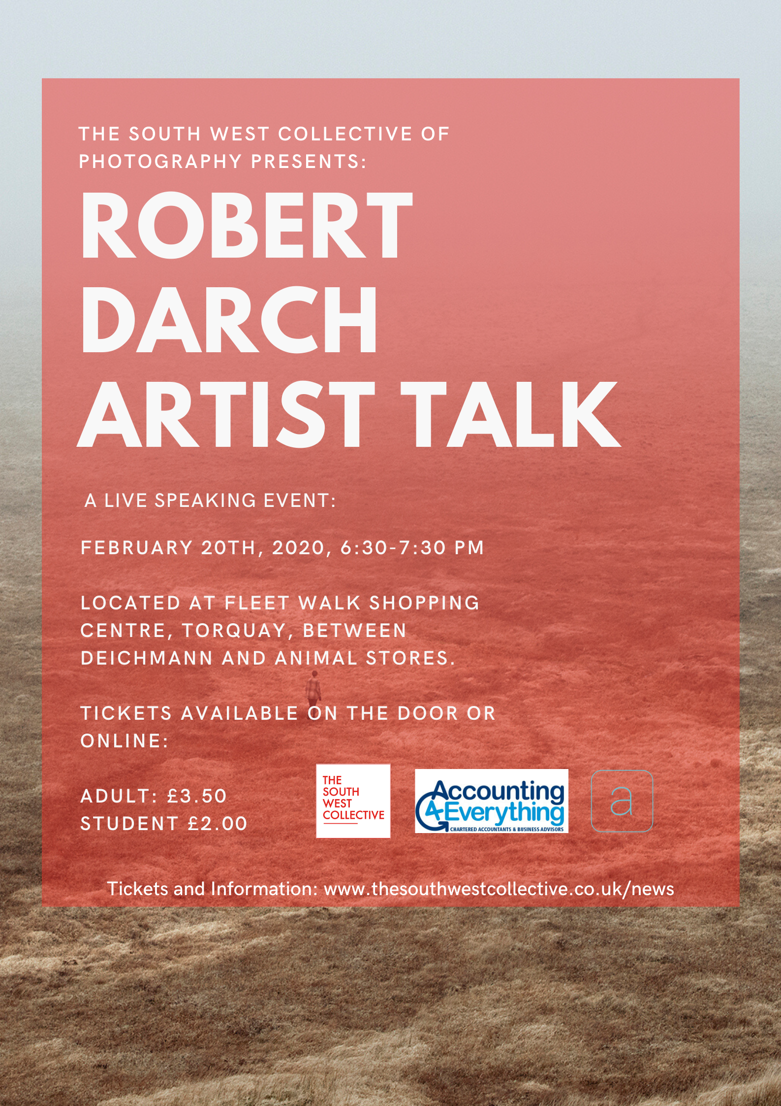 Torbays First Photographic exhibition visual storytelling Robert Darch artist talk the south west collective of photography