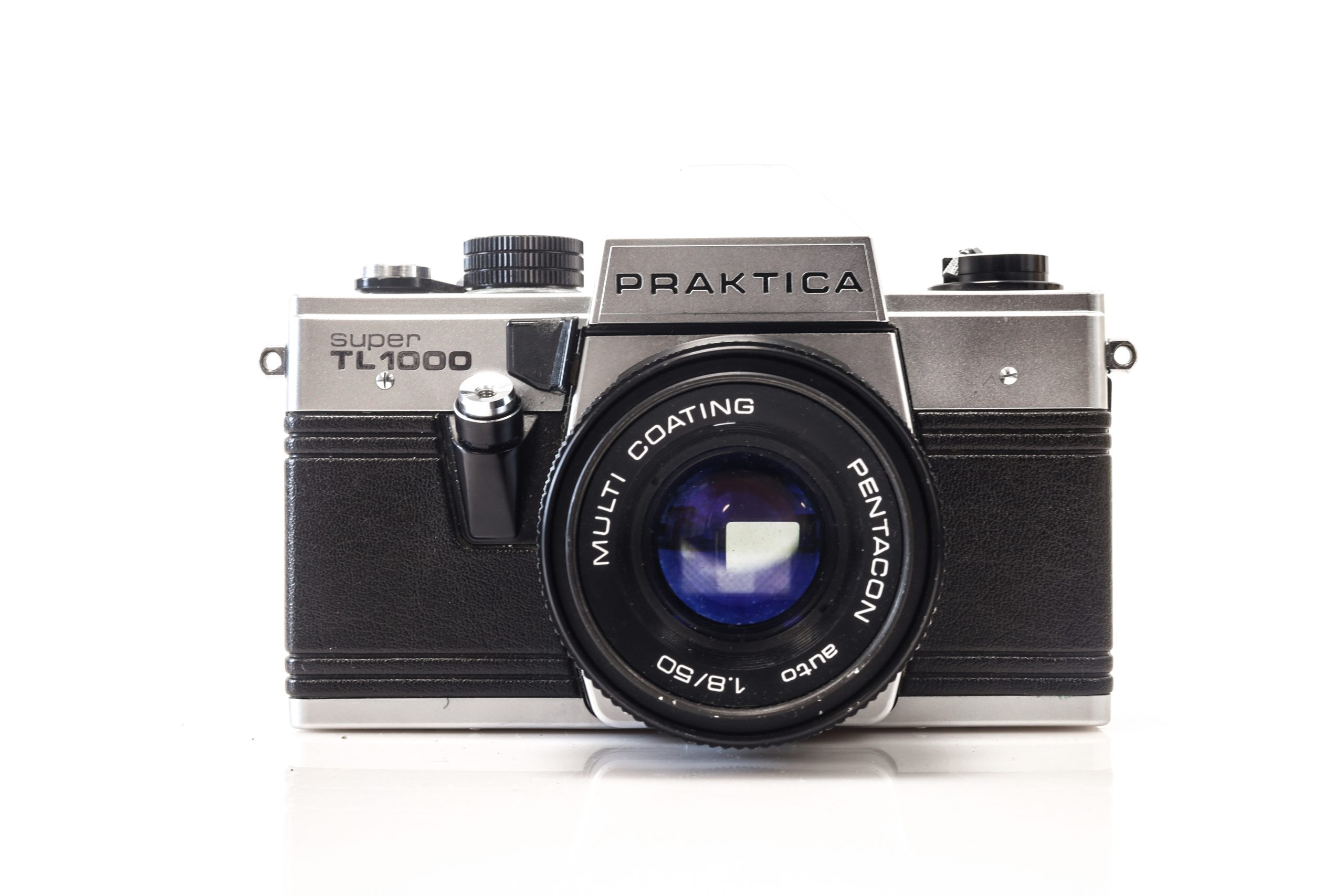 Beautiful Praktica Super TL 35mm Film Camera with 50mm F1.8 Lens
