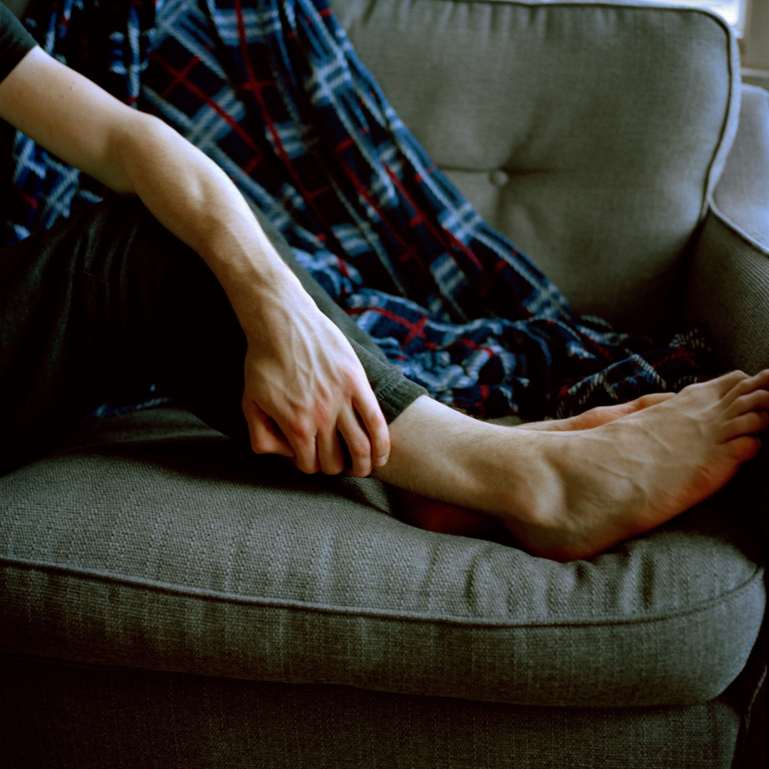 Léa Mariella - Jamie mans feet