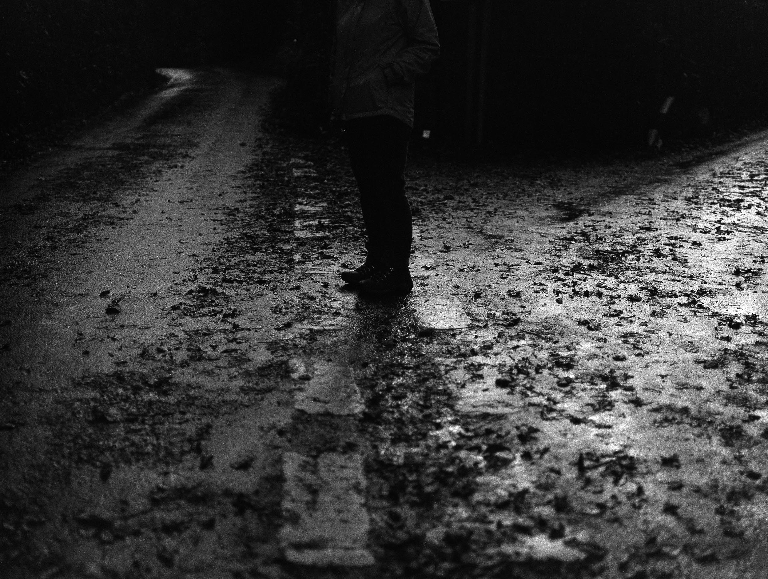Rosie Dale - Runaways the south west collective dark streets with street lights