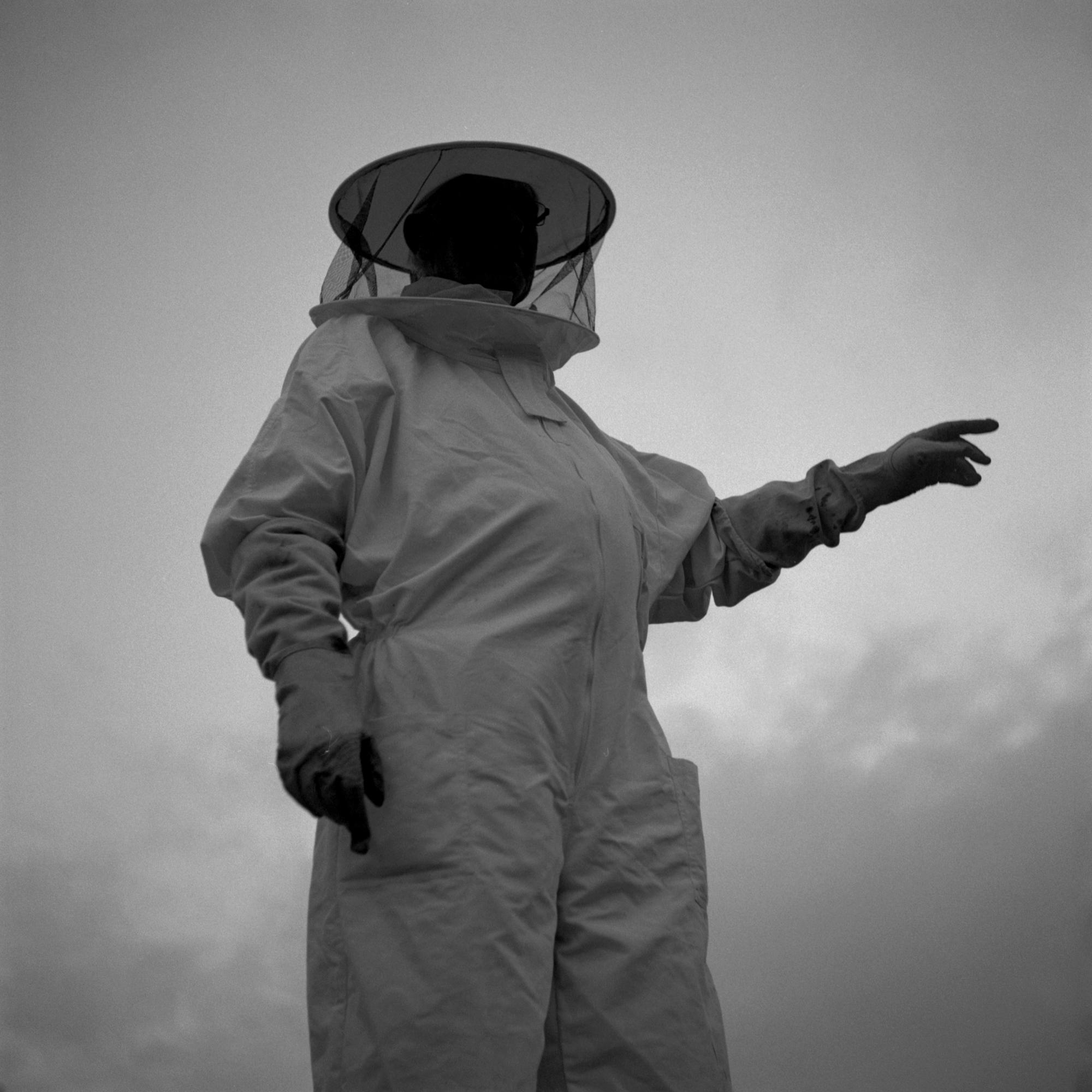 Tavis Amosford - 20x20 Framed Beekeeper Print
