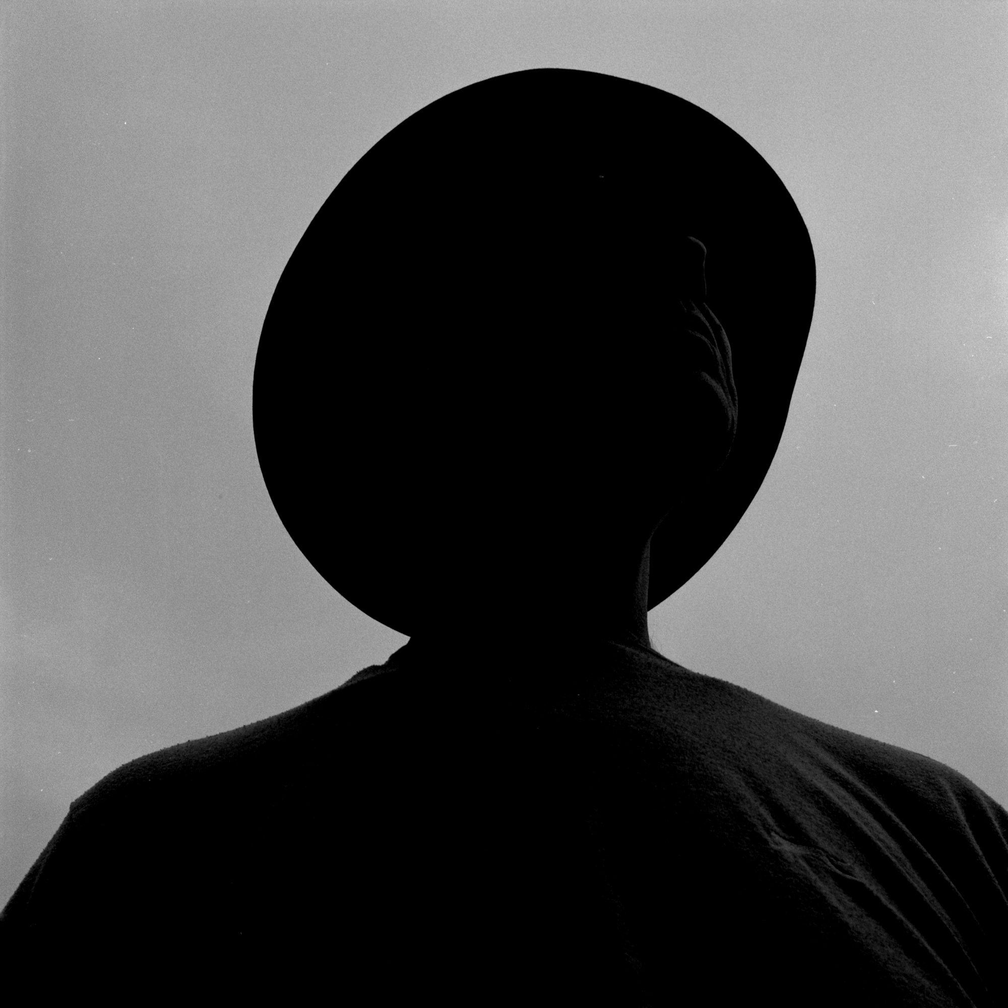 Tavis Amosford - 20x20 Framed Silhouette Print