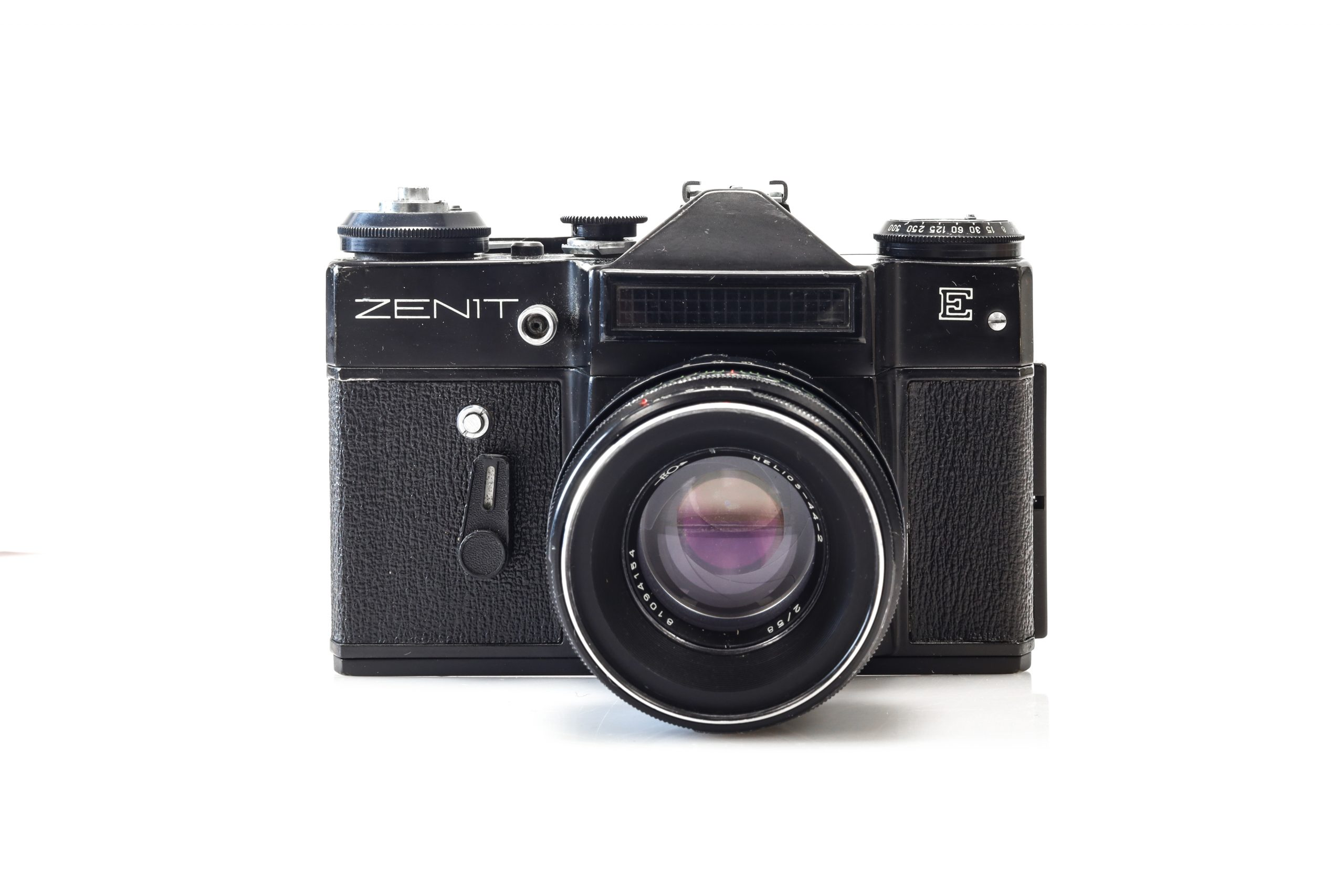 Stunning Zenit E 35mm Soviet Film Camera with Helios 44-2 Lens