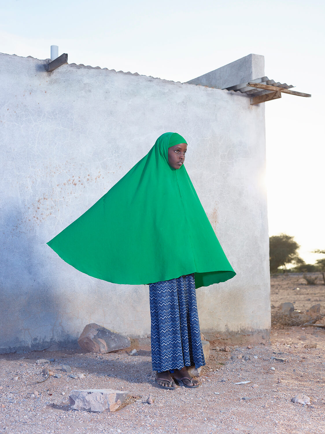 Ayan at the IDP camp in Gargara, Somaliland, from the series Dryland_Felicity McCabe the south west collective of photography