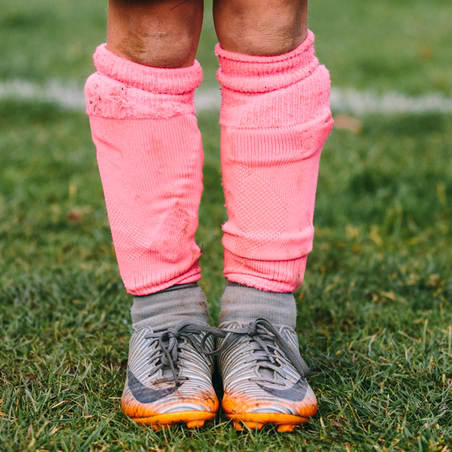 Zoë Bateman - Like A Girl girls playing football the south west collective of photography