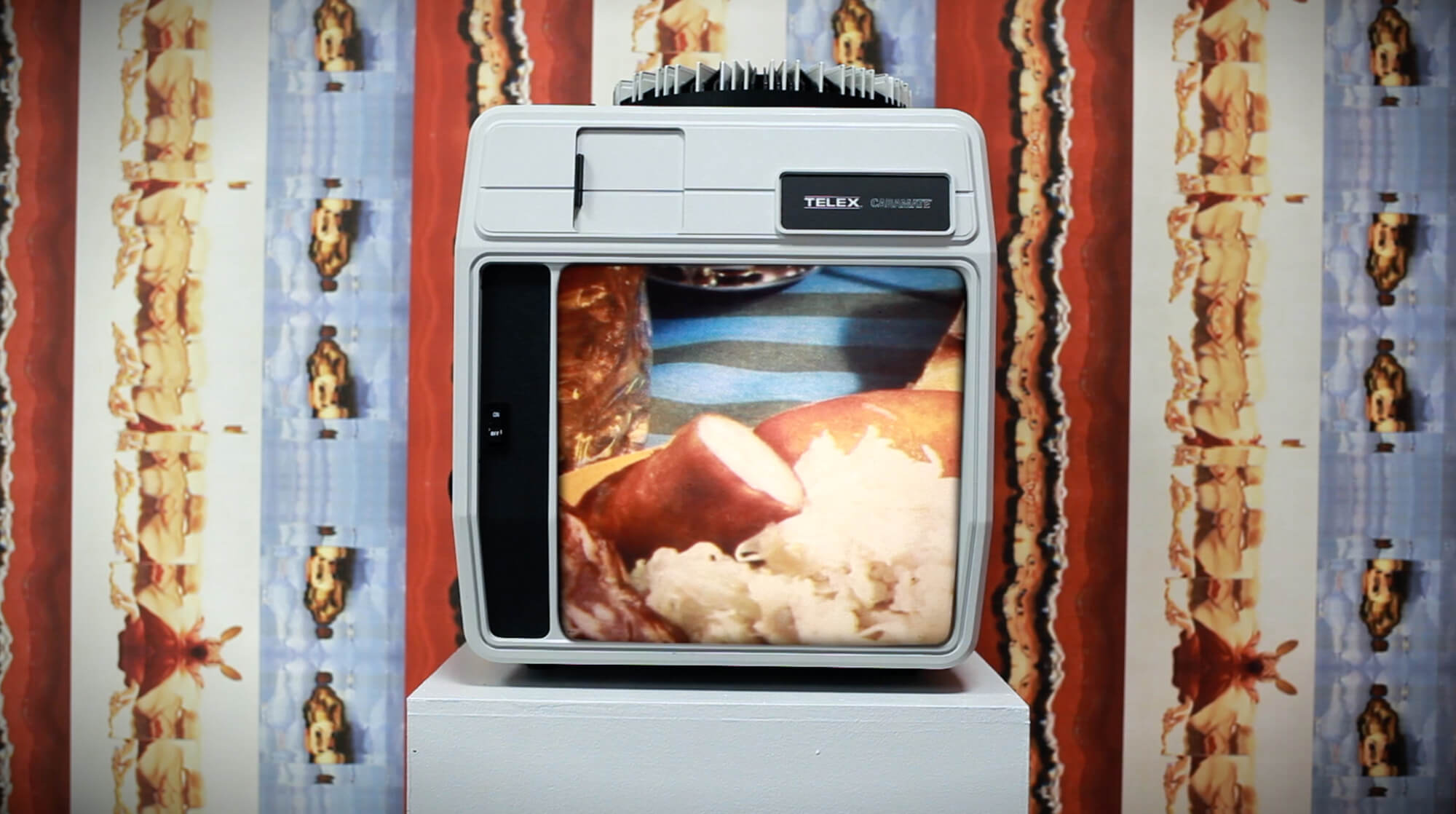 Loreal Prystaj the south west collective exhibtion old tv oven